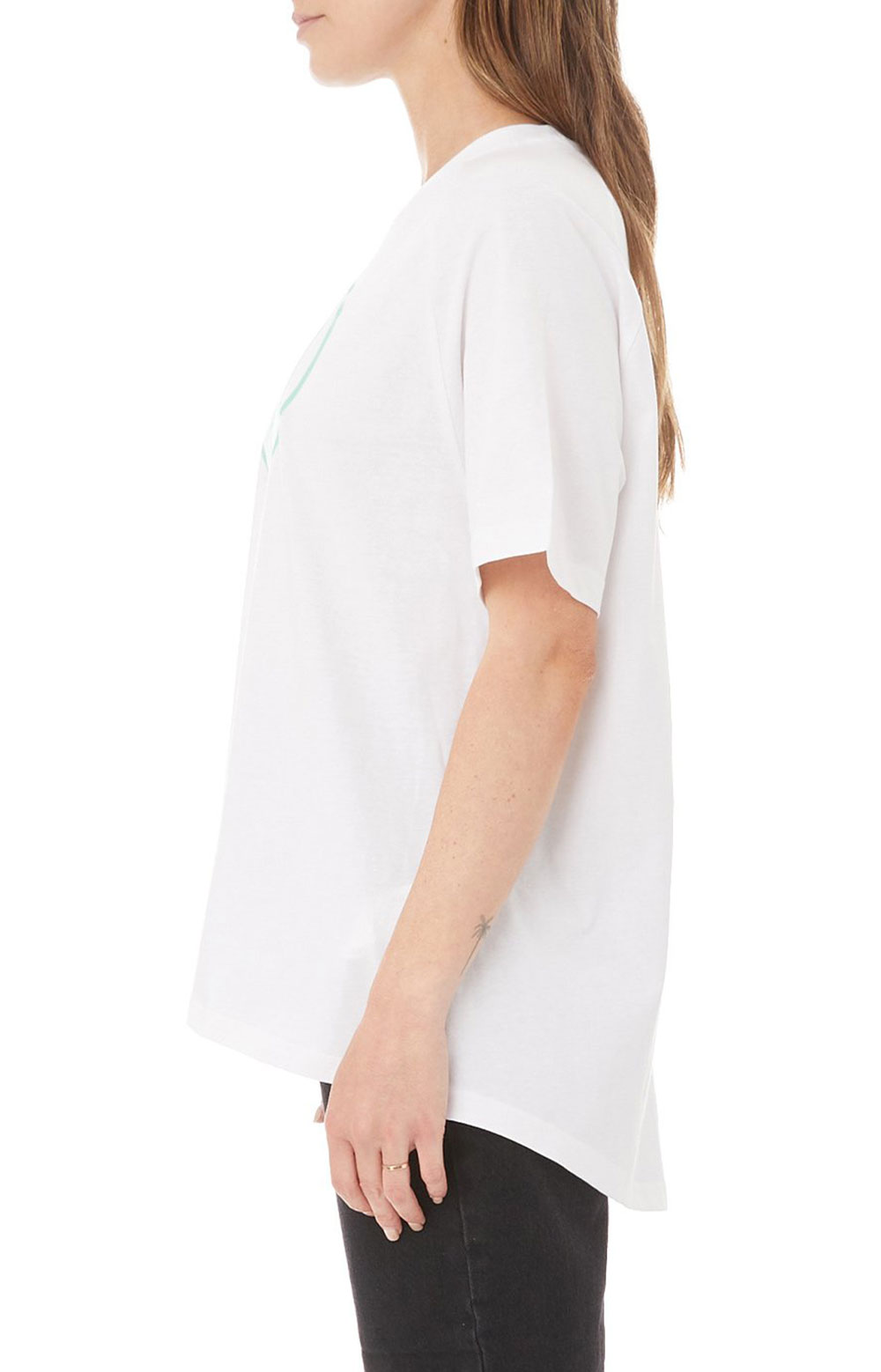 Authentic Pop Emasar Top - White/Green Spring  3