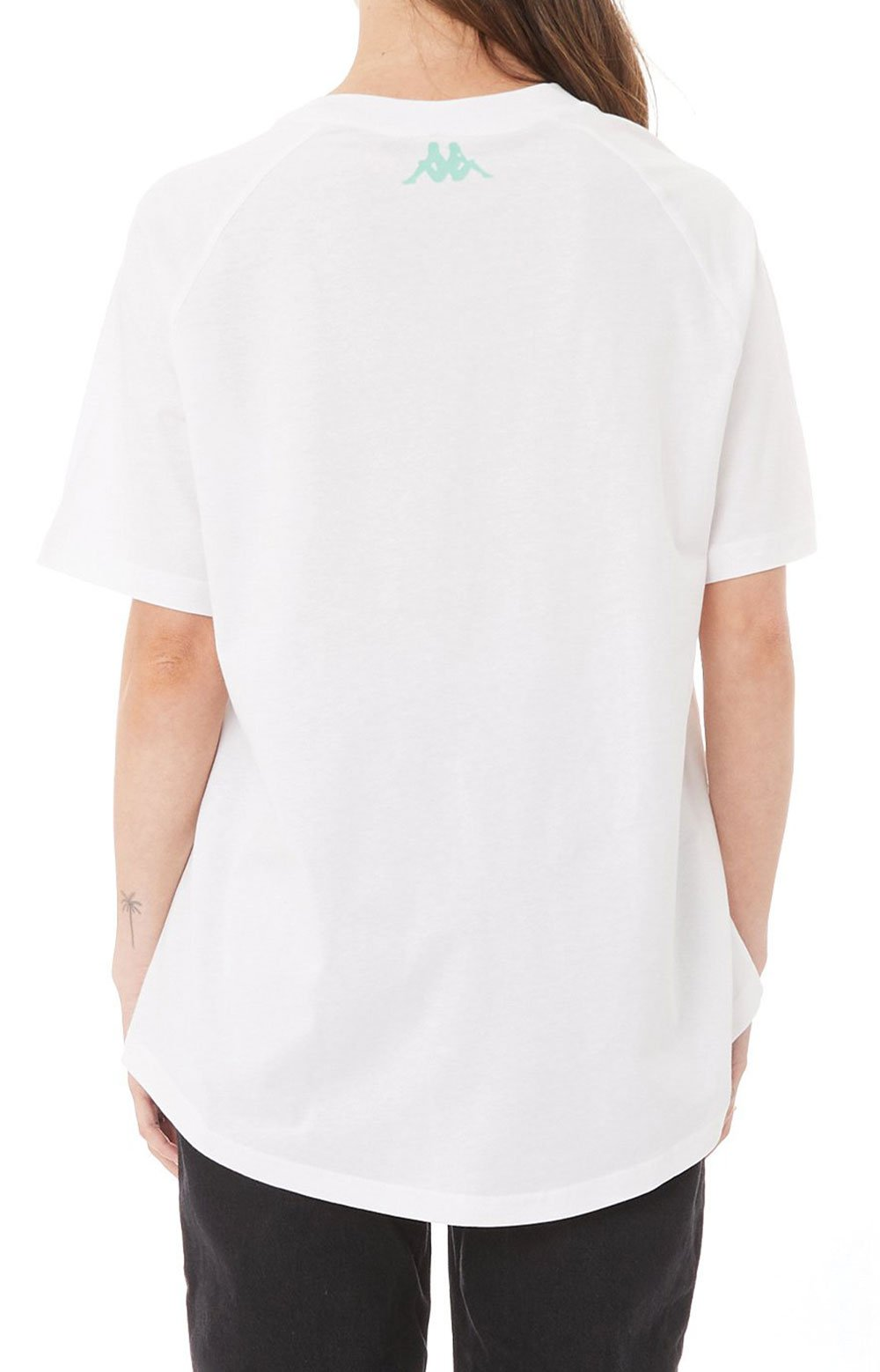 Authentic Pop Emasar Top - White/Green Spring  4