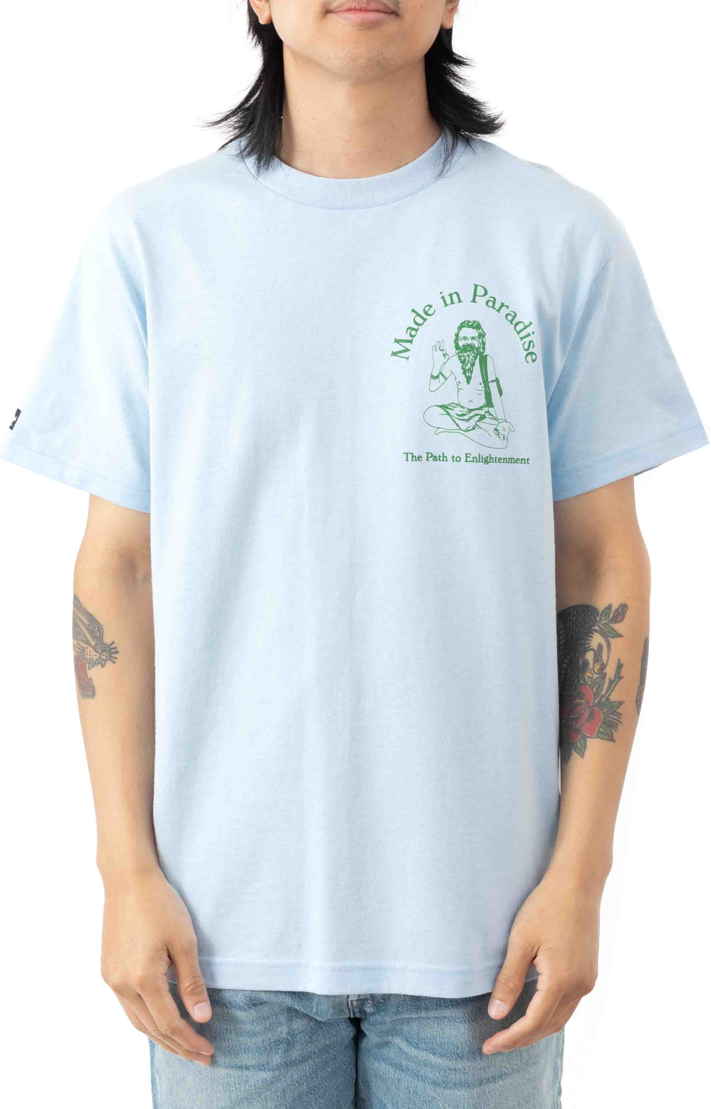 Path To Enlightenment T-Shirt - Powder Blue 2