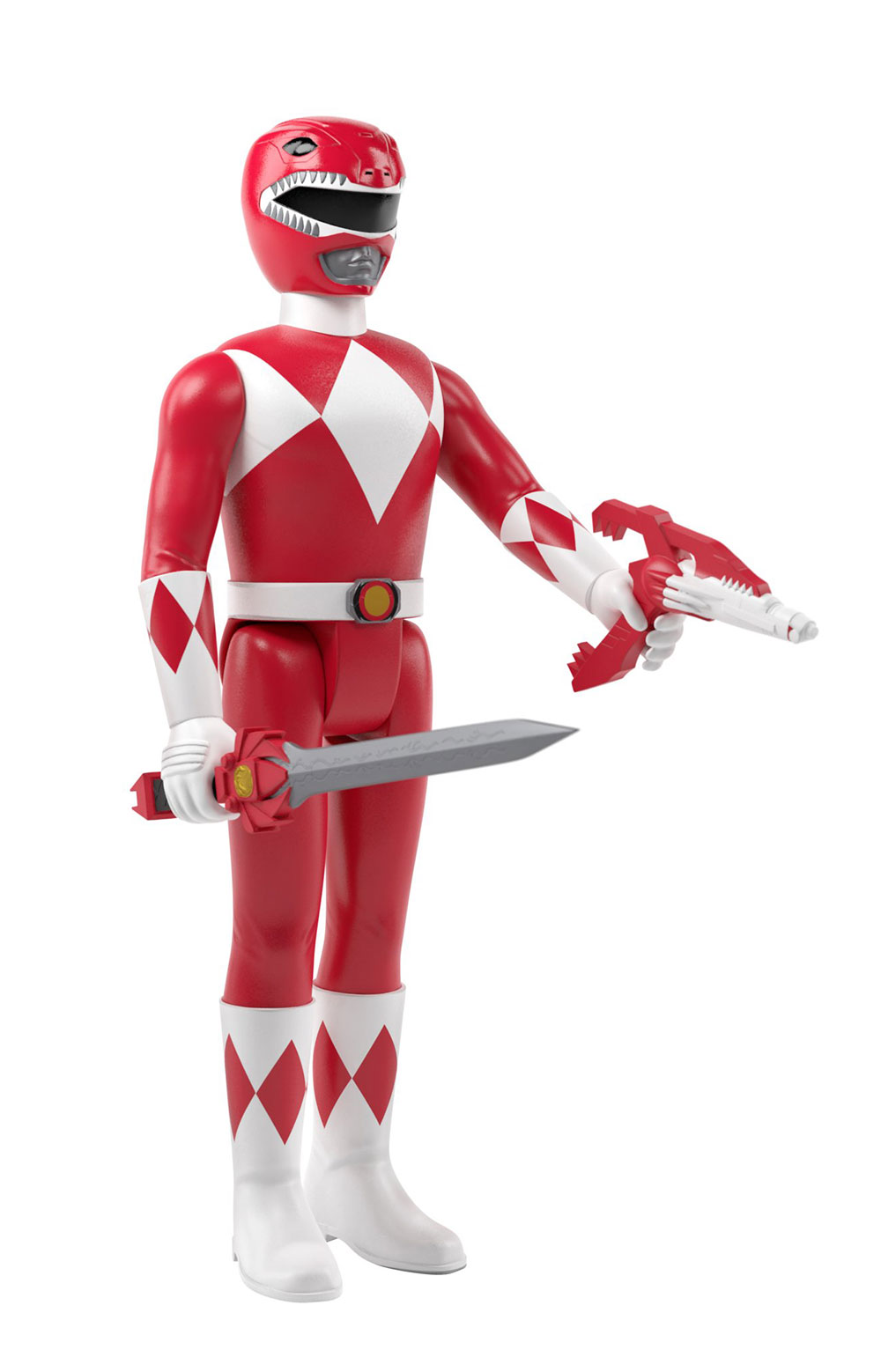 Mighty Morphin Power Rangers Reaction Figure Wave 1 - Red Rangers  2