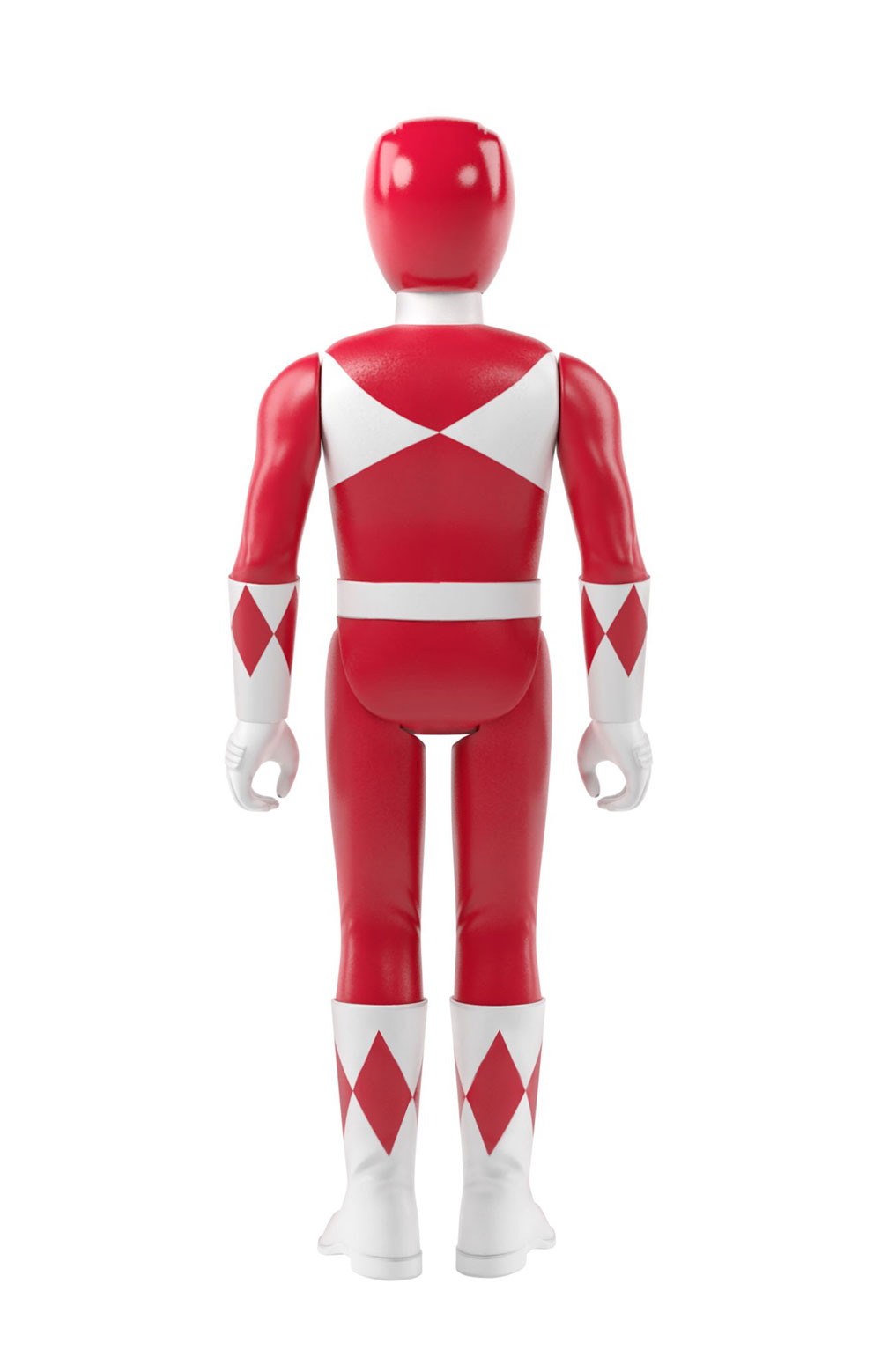 Mighty Morphin Power Rangers Reaction Figure Wave 1 - Red Rangers  3