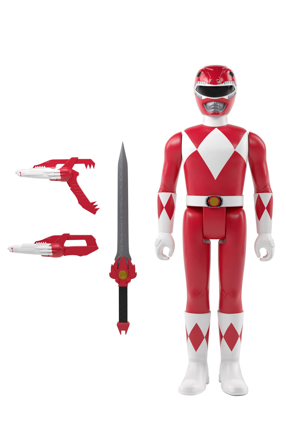 Mighty Morphin Power Rangers Reaction Figure Wave 1 - Red Rangers