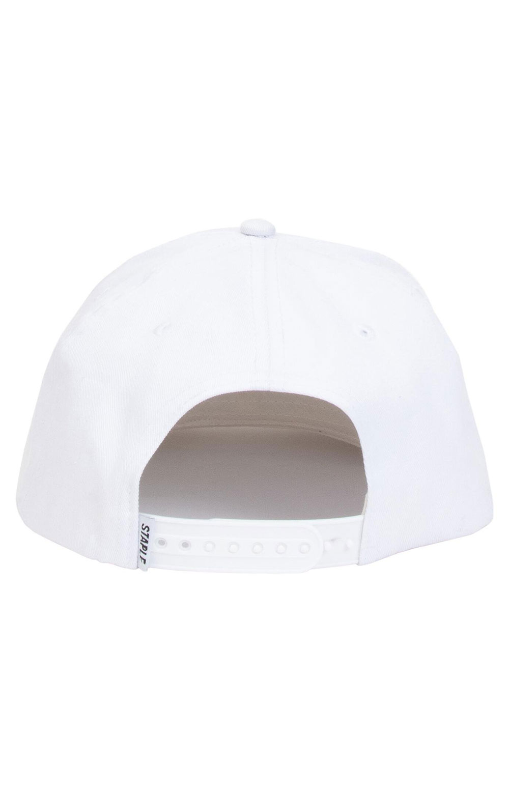 Pigeon Snap-Back Hat - White  3