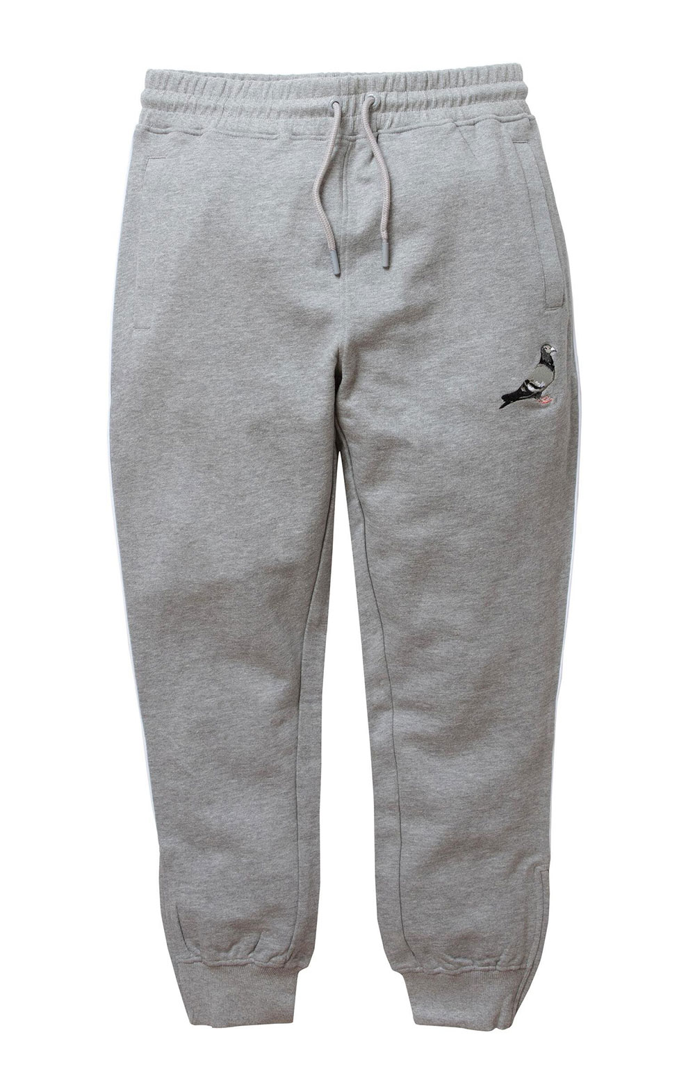 Piped Sweatpant - Heather Grey 2
