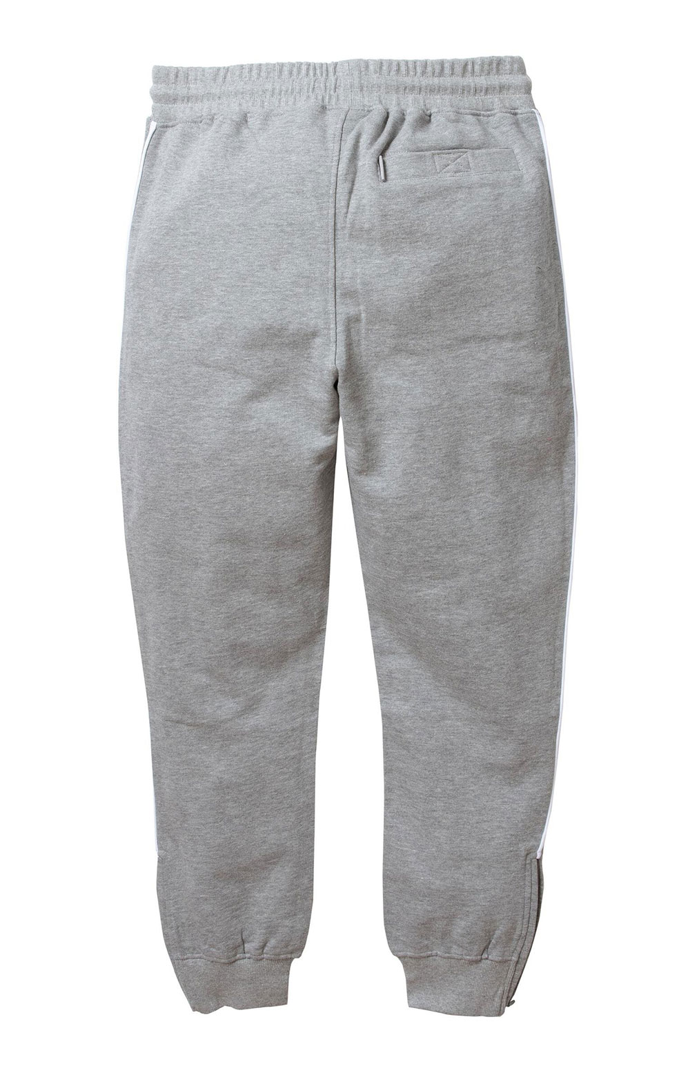 Piped Sweatpant - Heather Grey 3