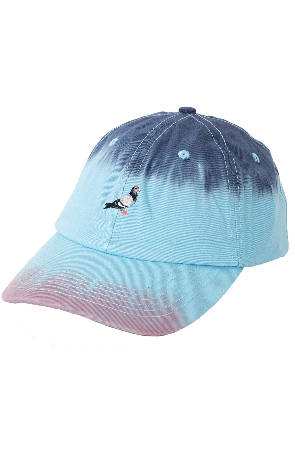 Dyed Panel Dad Hat - Teal