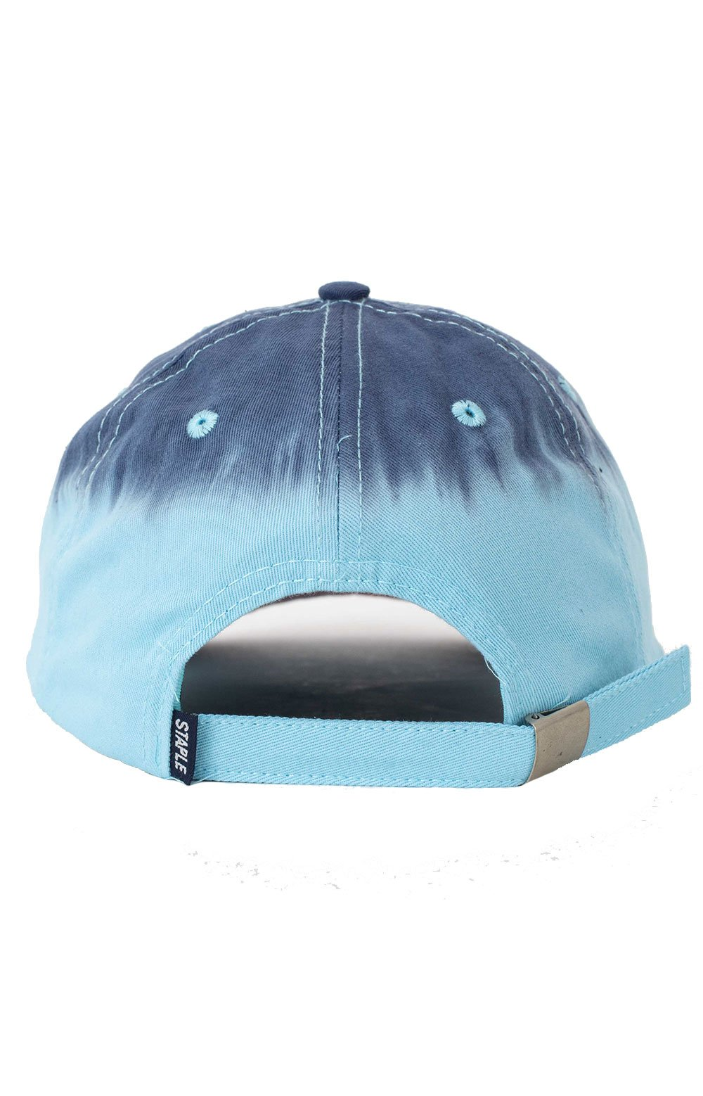 Dyed Panel Dad Hat - Teal  3