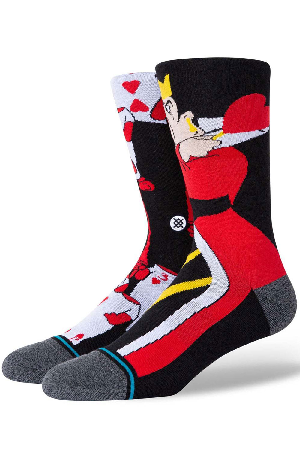 Off With Their Heads Socks - Black