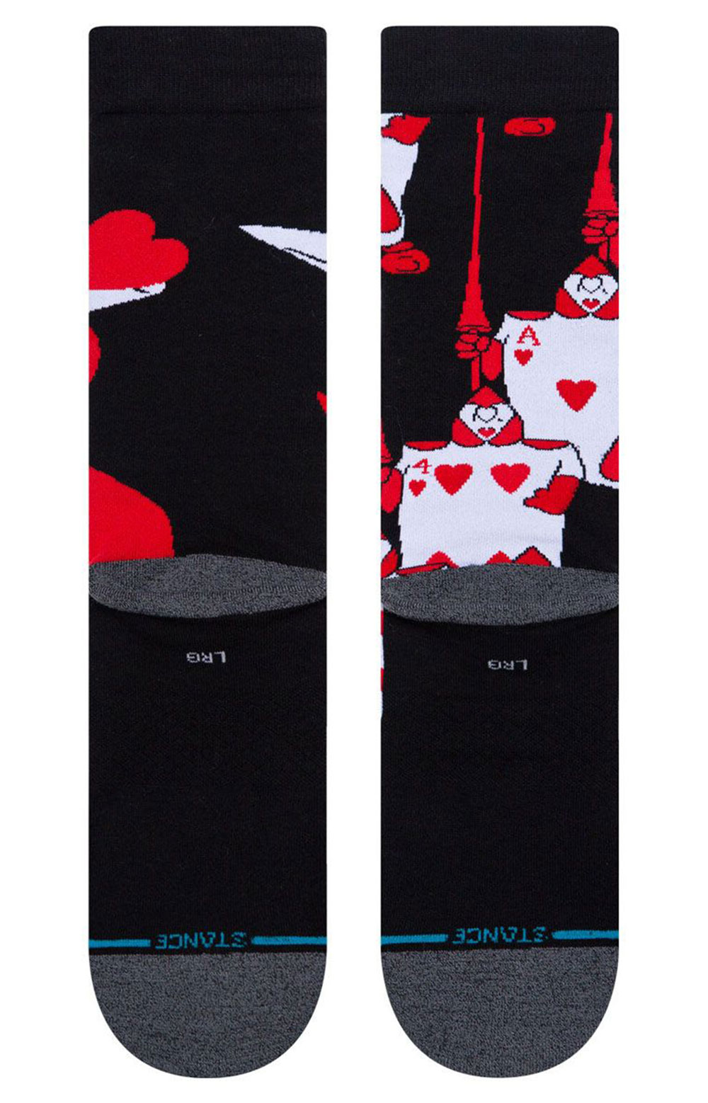 Off With Their Heads Socks - Black  3