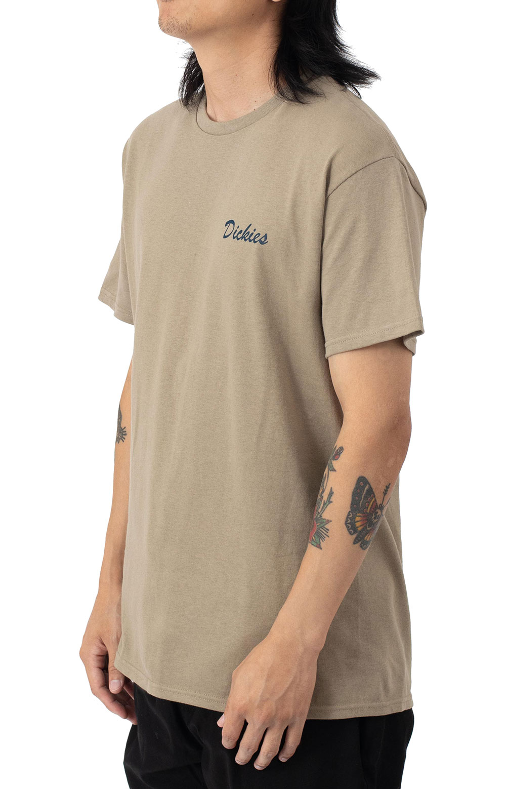 (WSS21S9) On The Job Graphic T-Shirt - Sand  3
