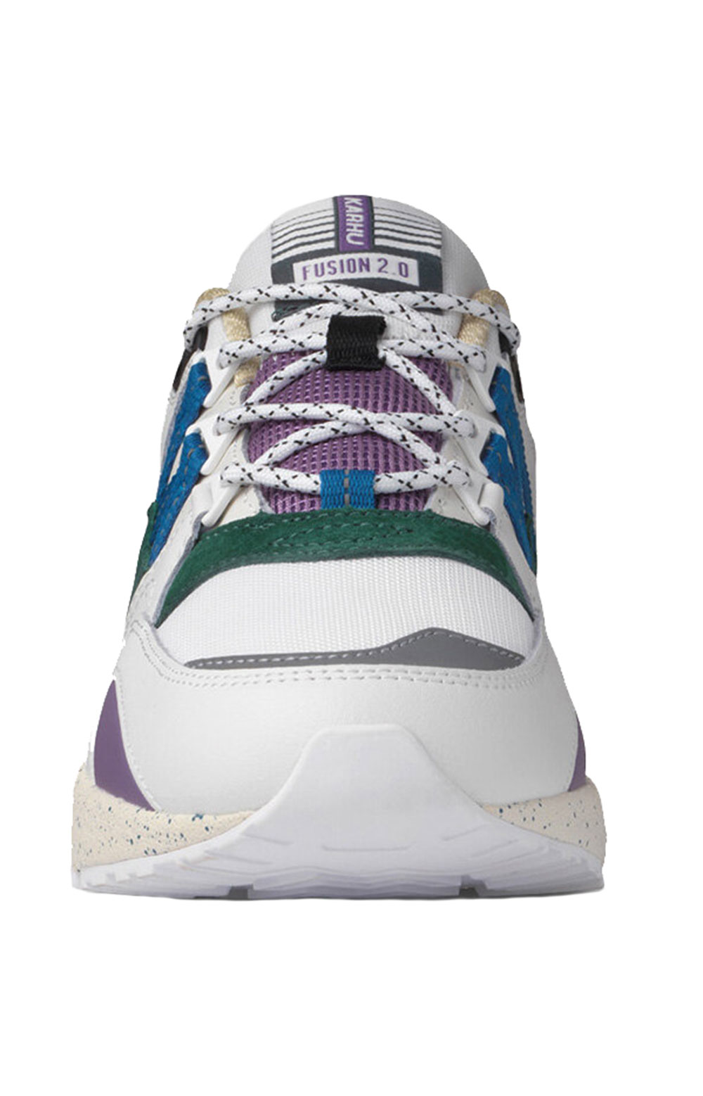 (F804099) Fusion 2.0 Shoes - Bright White/Blue Spruce  5