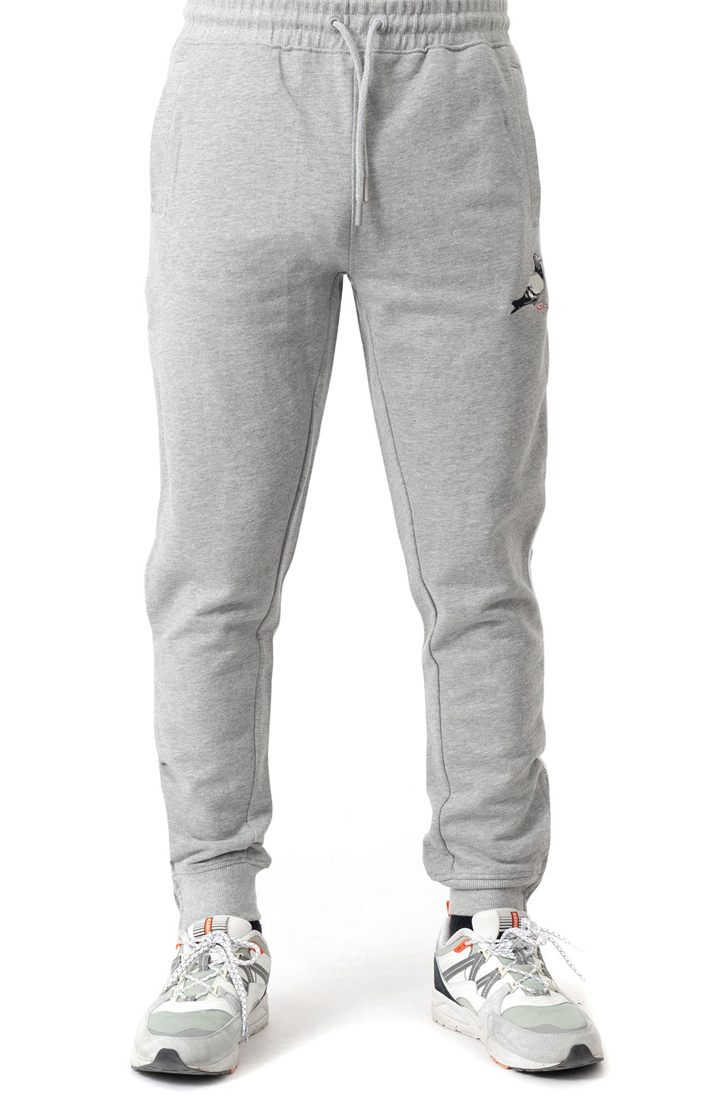 Piped Sweatpant - Heather Grey 4