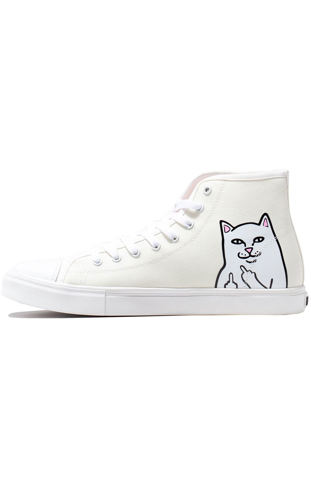 Lord Nermal UV Activated High Tops - Blue/Fuschia  4