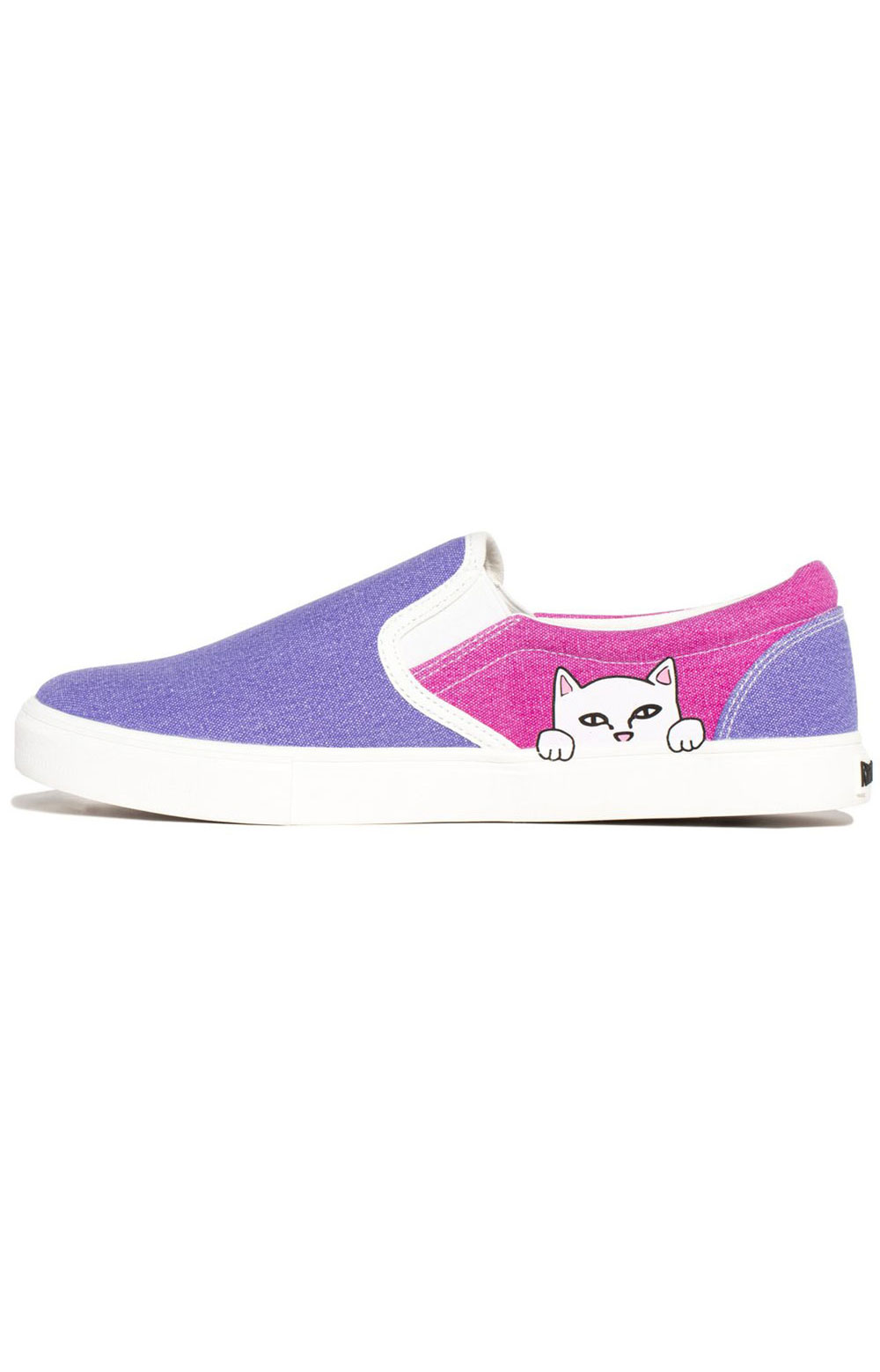 Lord Nermal UV Activated Slip-On Shoes - Blue/Fuschia 2