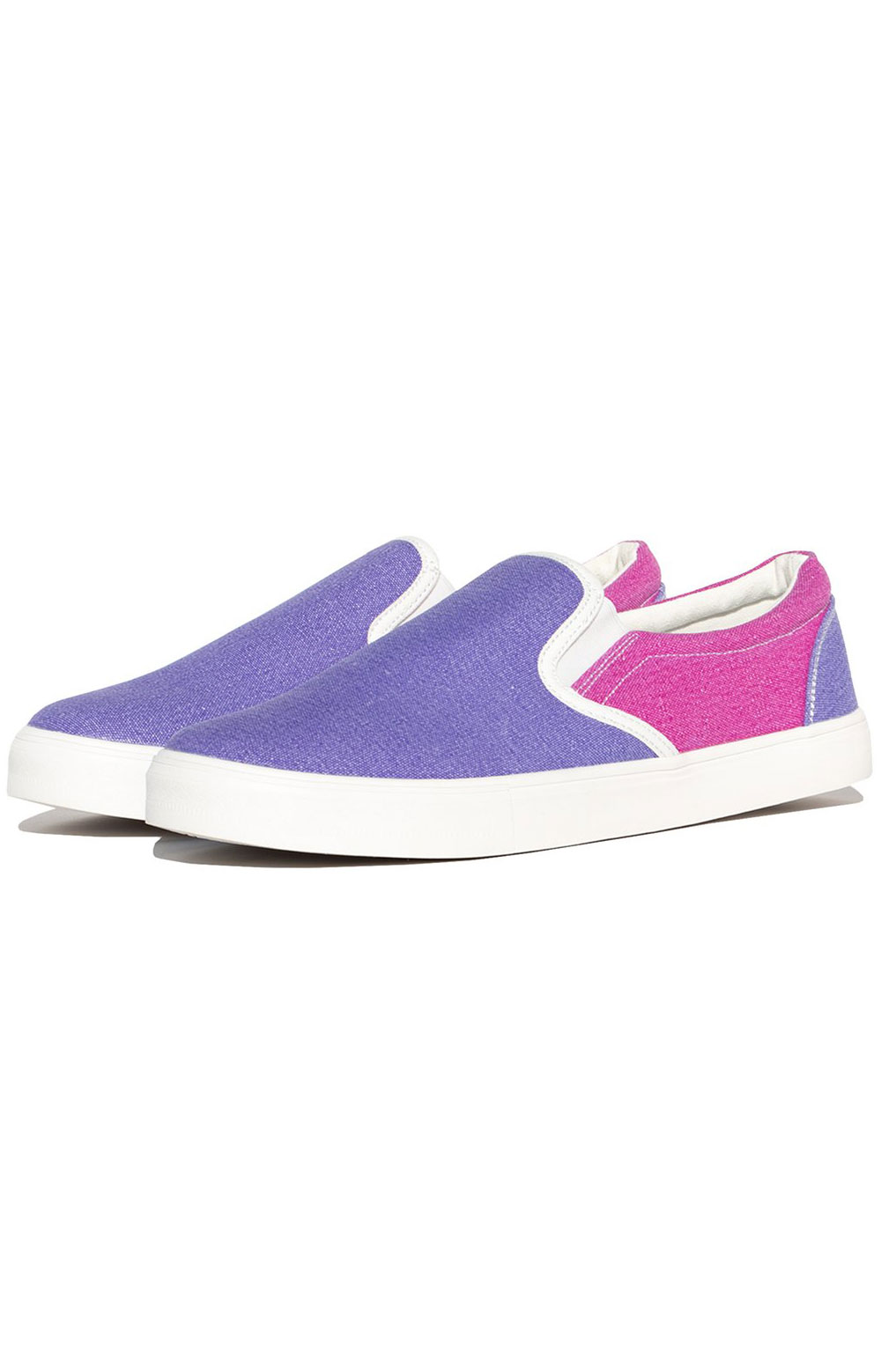 Lord Nermal UV Activated Slip-On Shoes - Blue/Fuschia 3