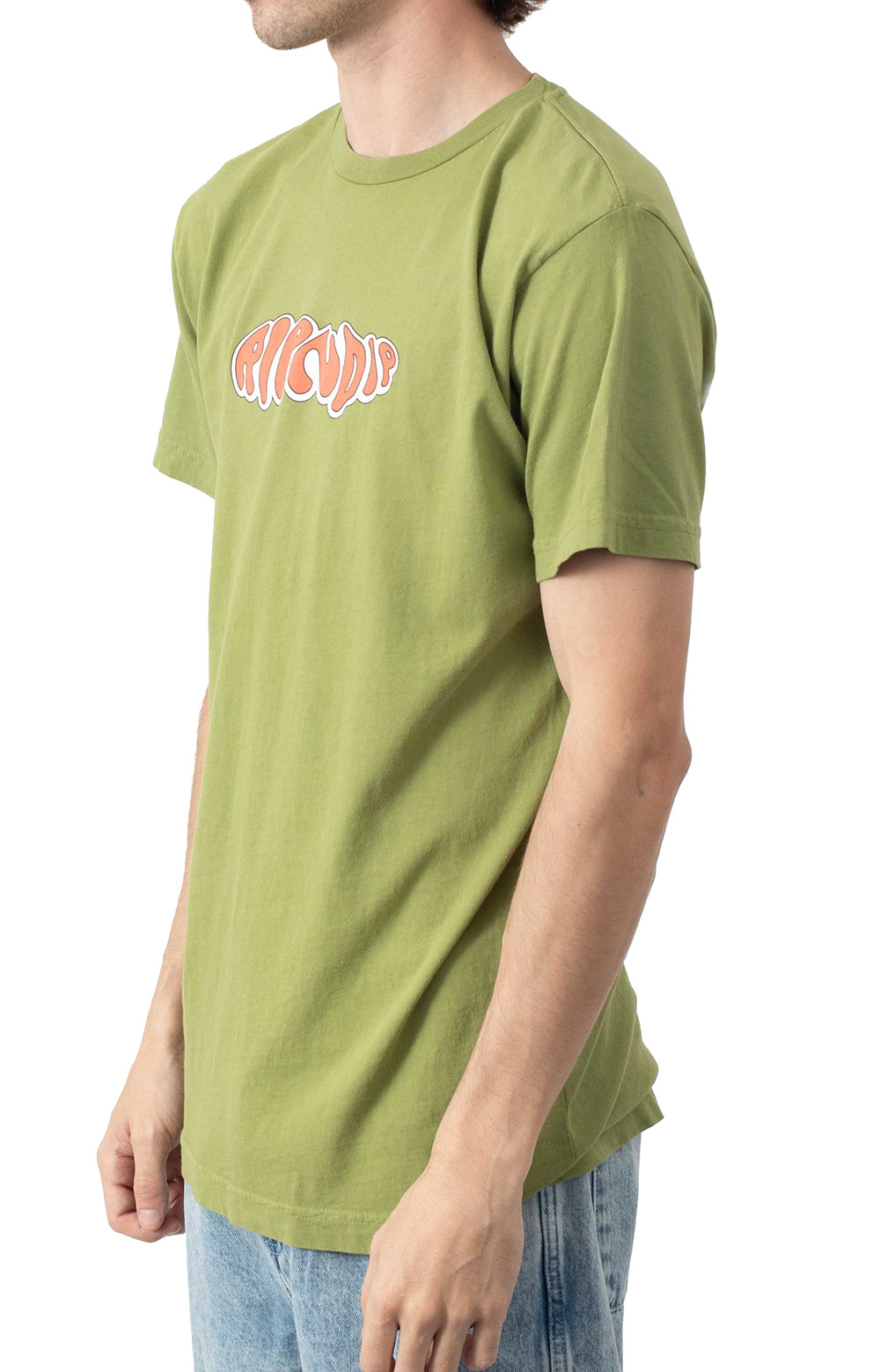Flower Child T-Shirt - Dirty Olive  3