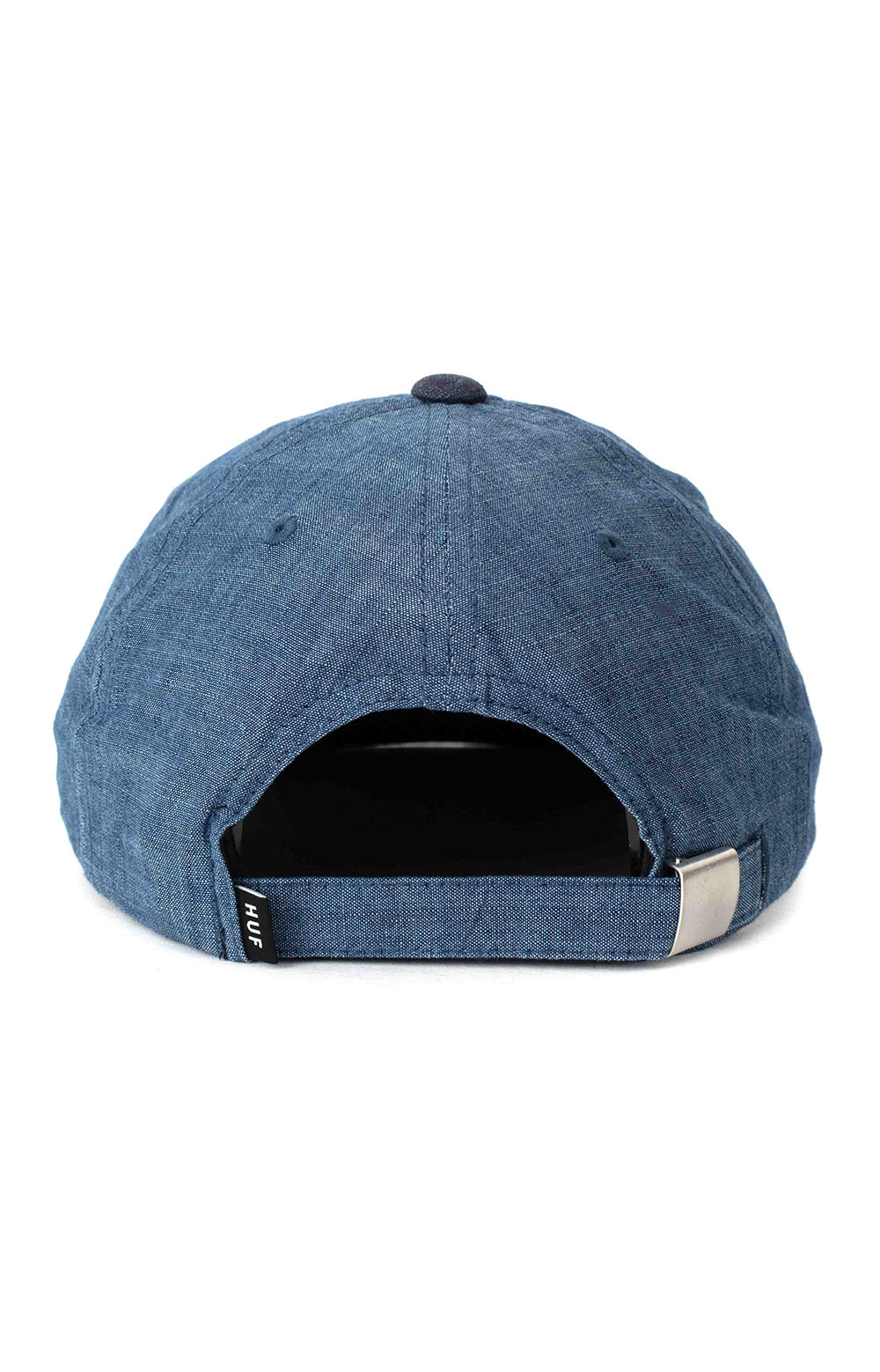 Global Warming 6 Panel Hat - Blue Chambray 3