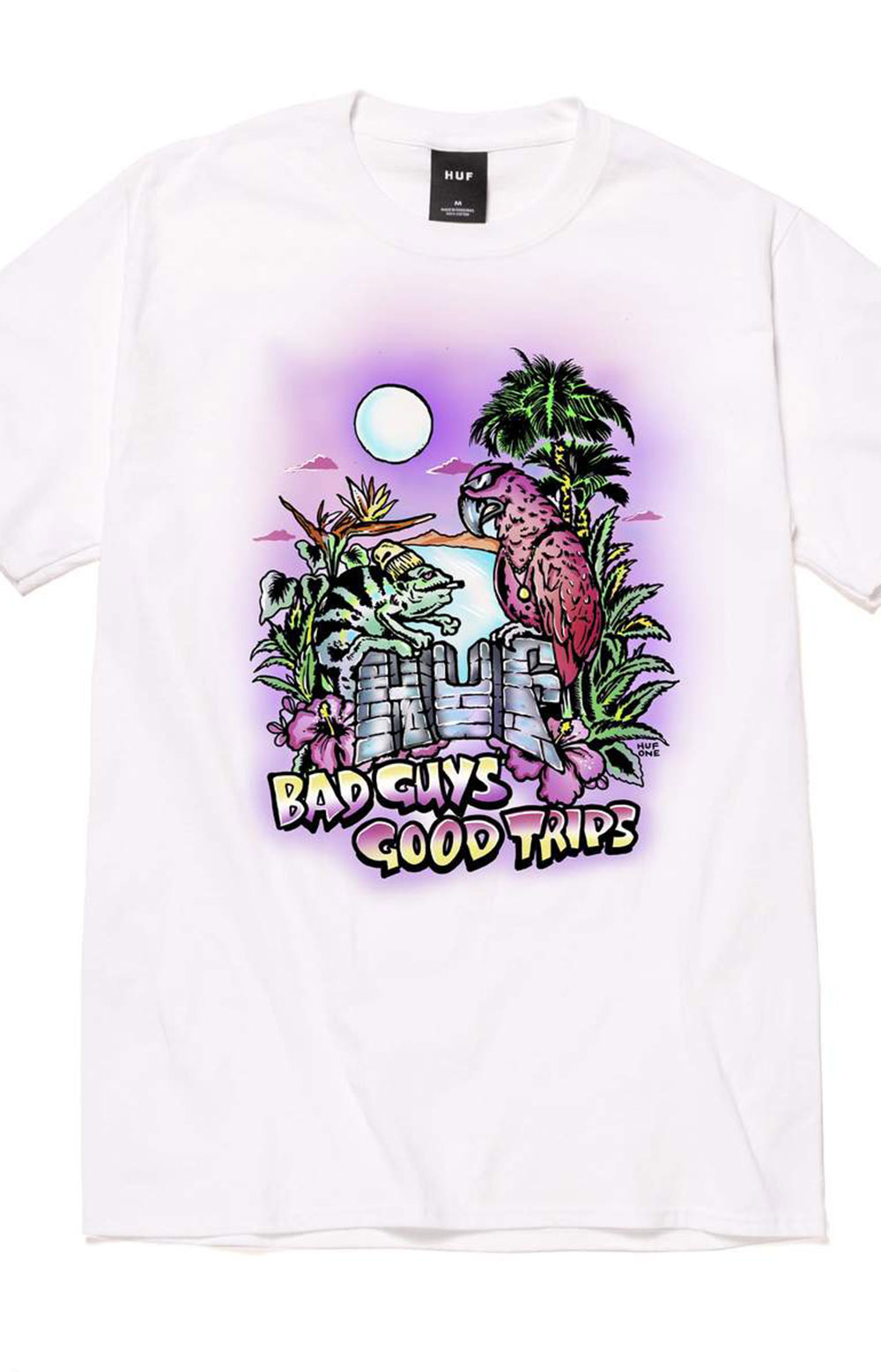 Vacation UV Color T-Shirt - White  3