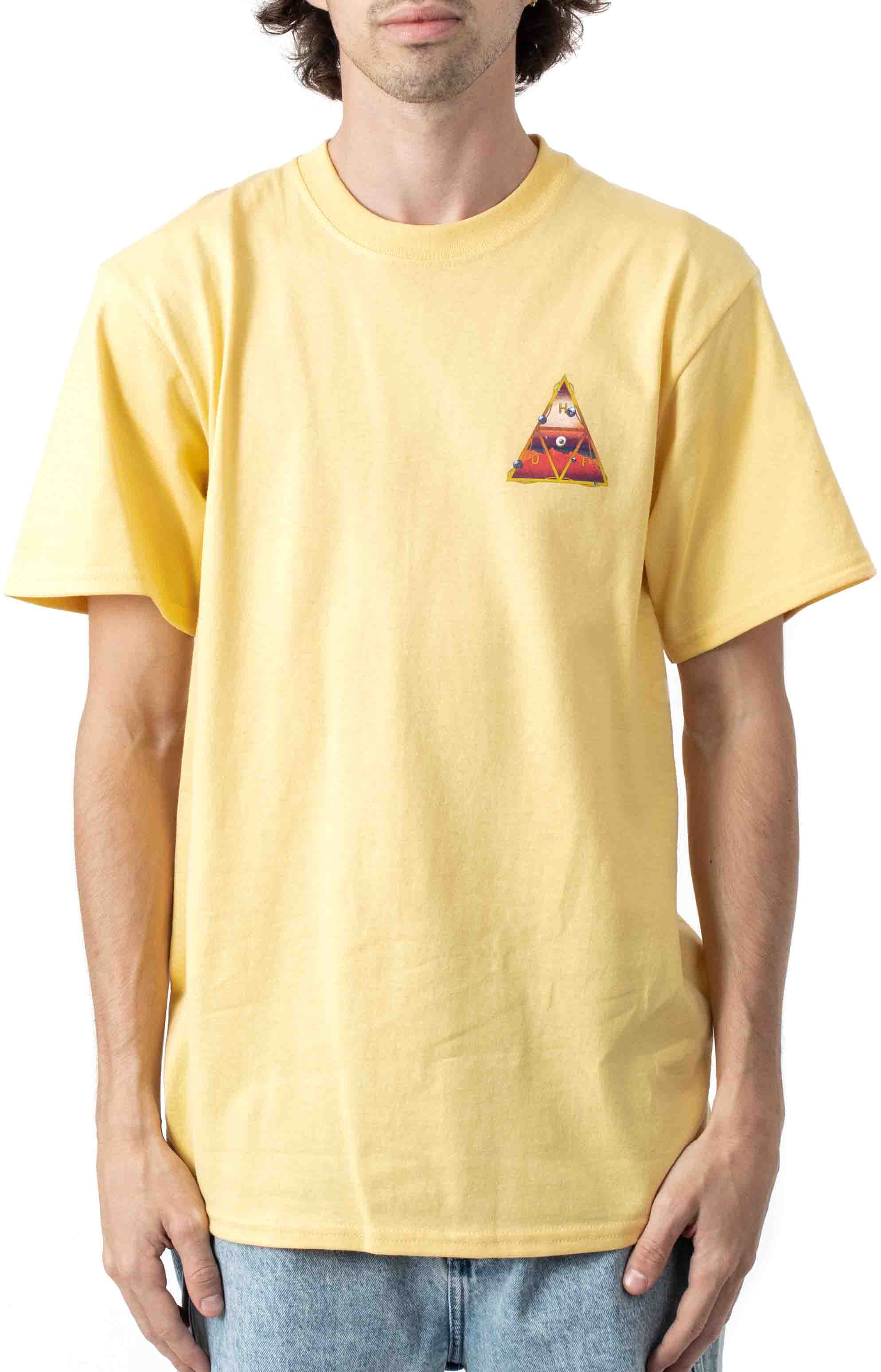 Altered State TT T-Shirt - Washed Yellow