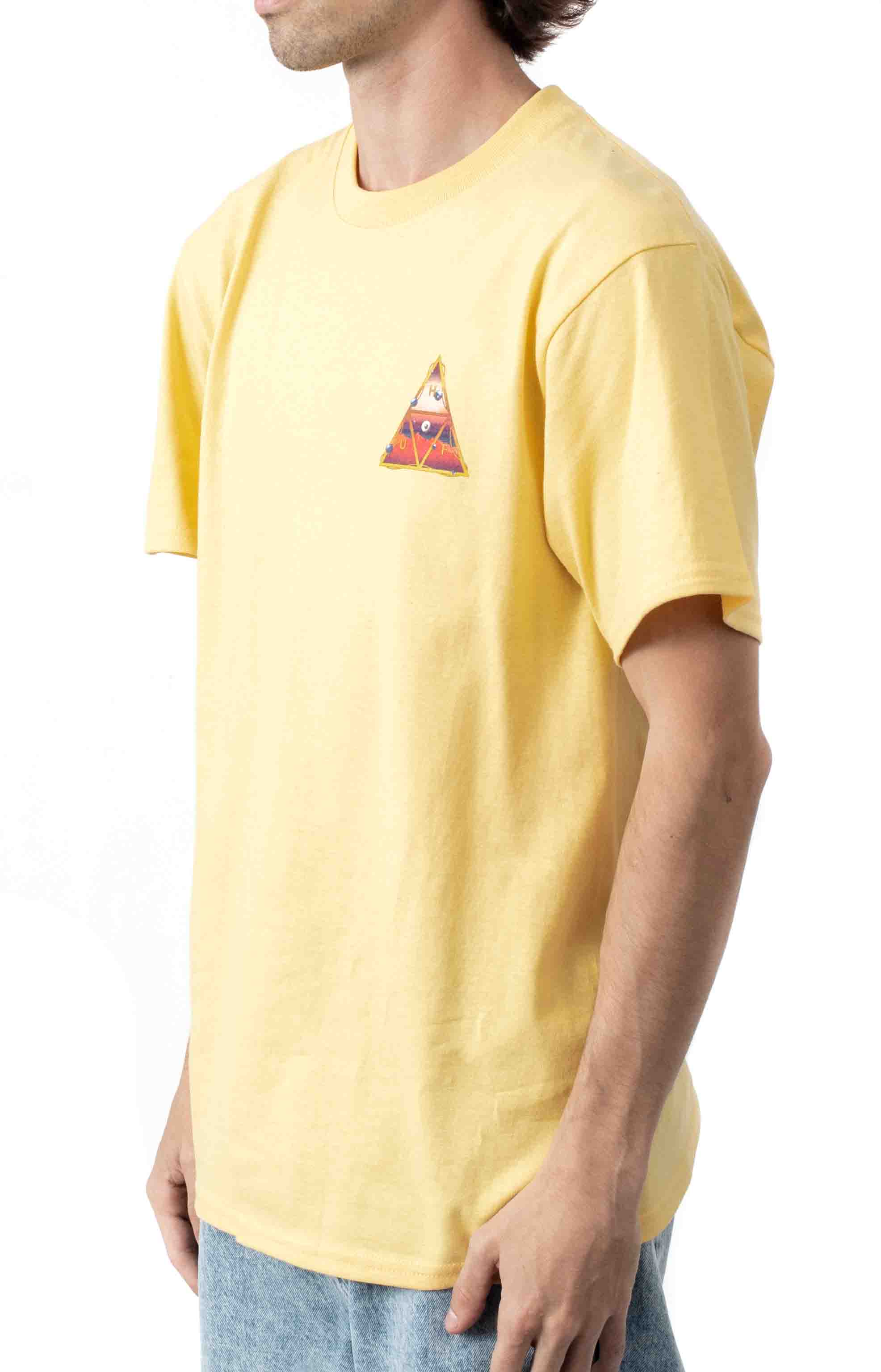 Altered State TT T-Shirt - Washed Yellow  2