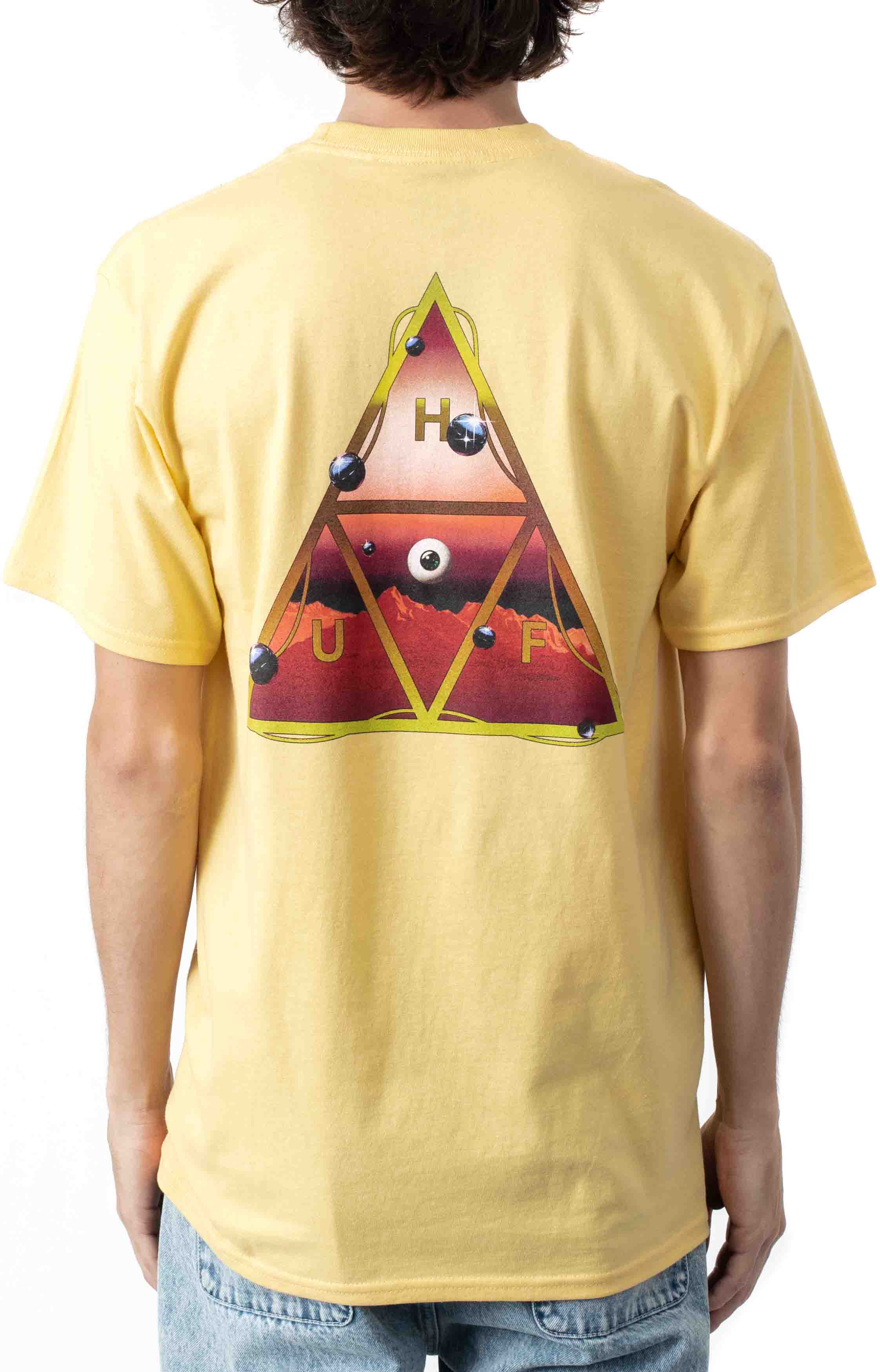 Altered State TT T-Shirt - Washed Yellow  3