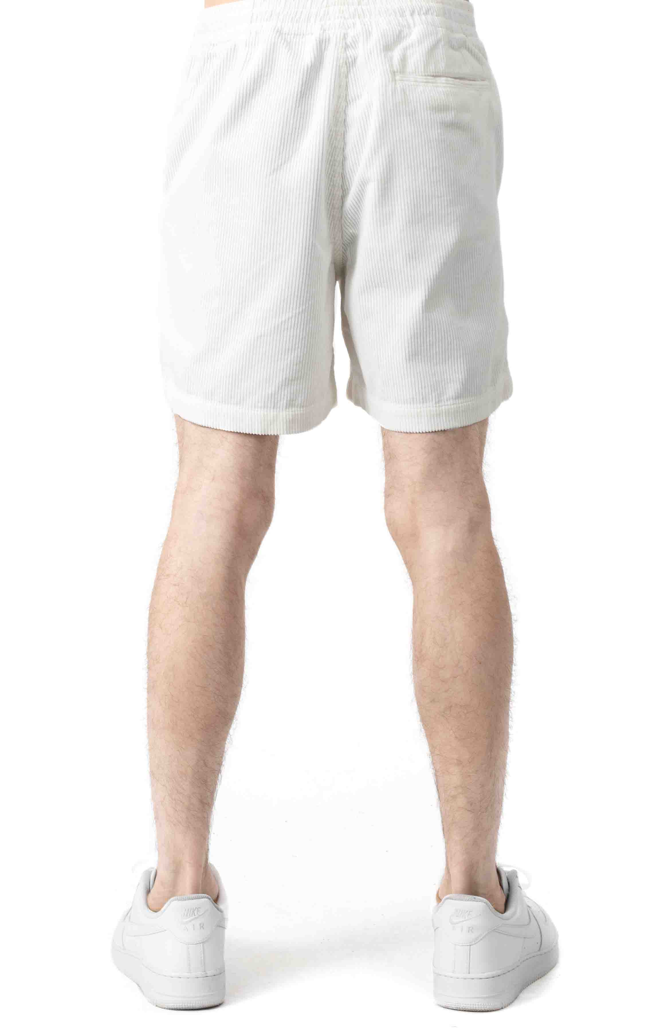 Classic Fit Prepster Short - White  3