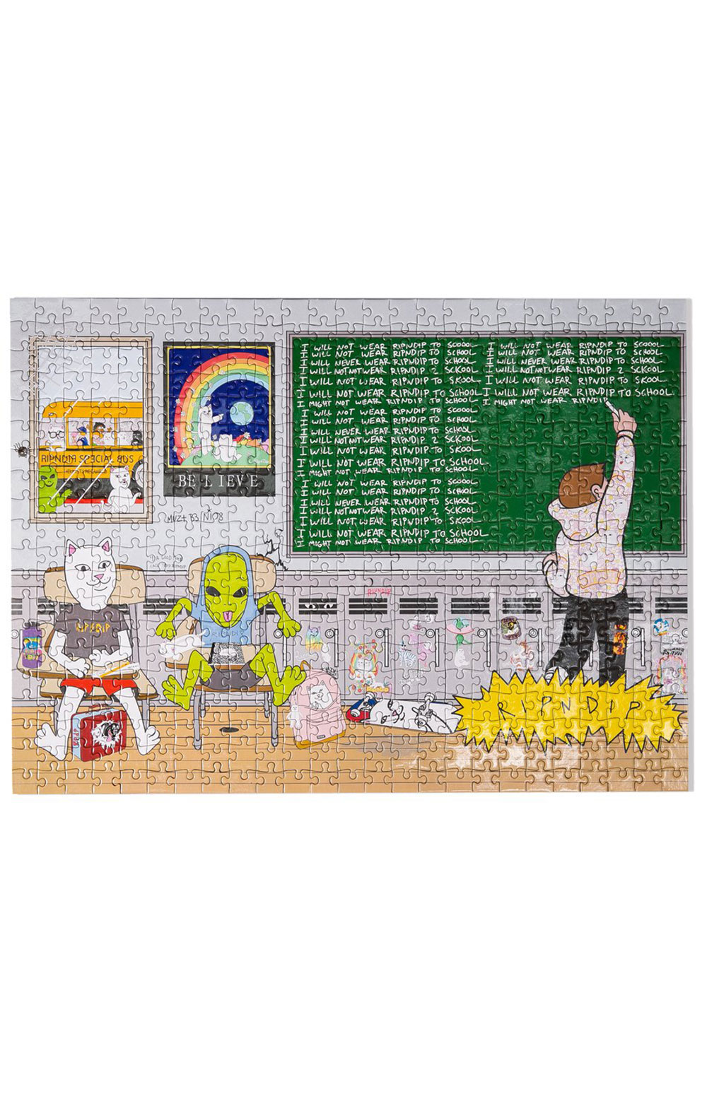 Stay In School Puzzle