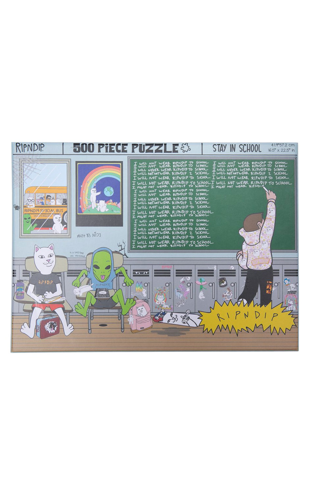 Stay In School Puzzle  2