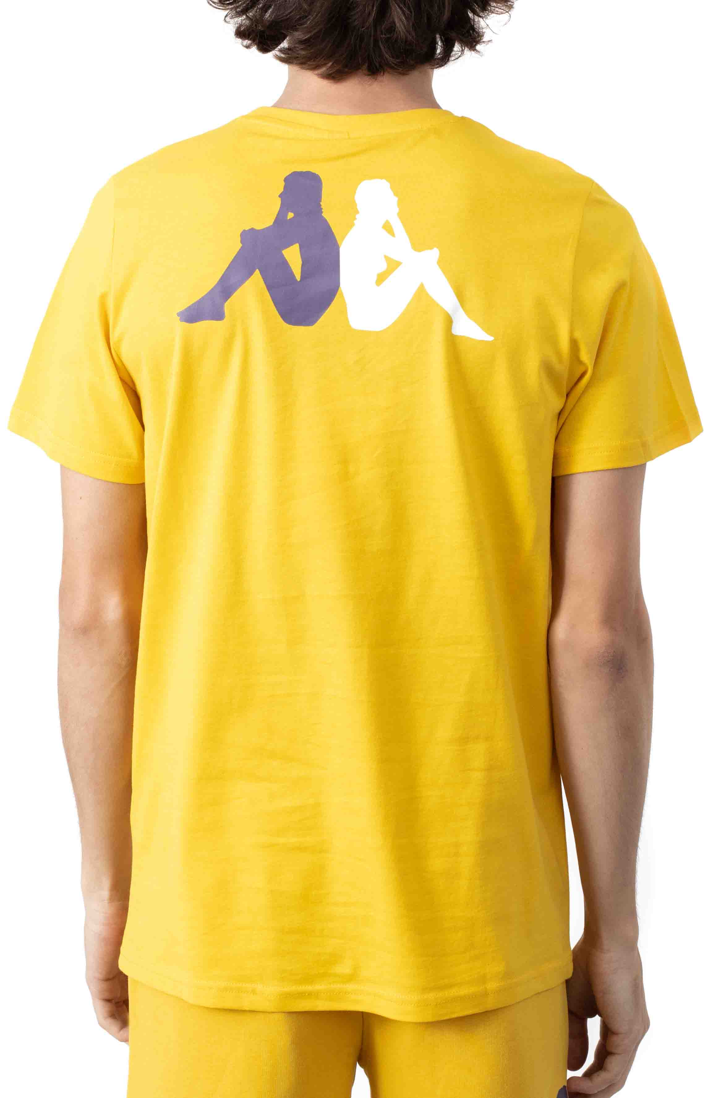 Authentic Runis T-Shirt - Yellow/Violet  3
