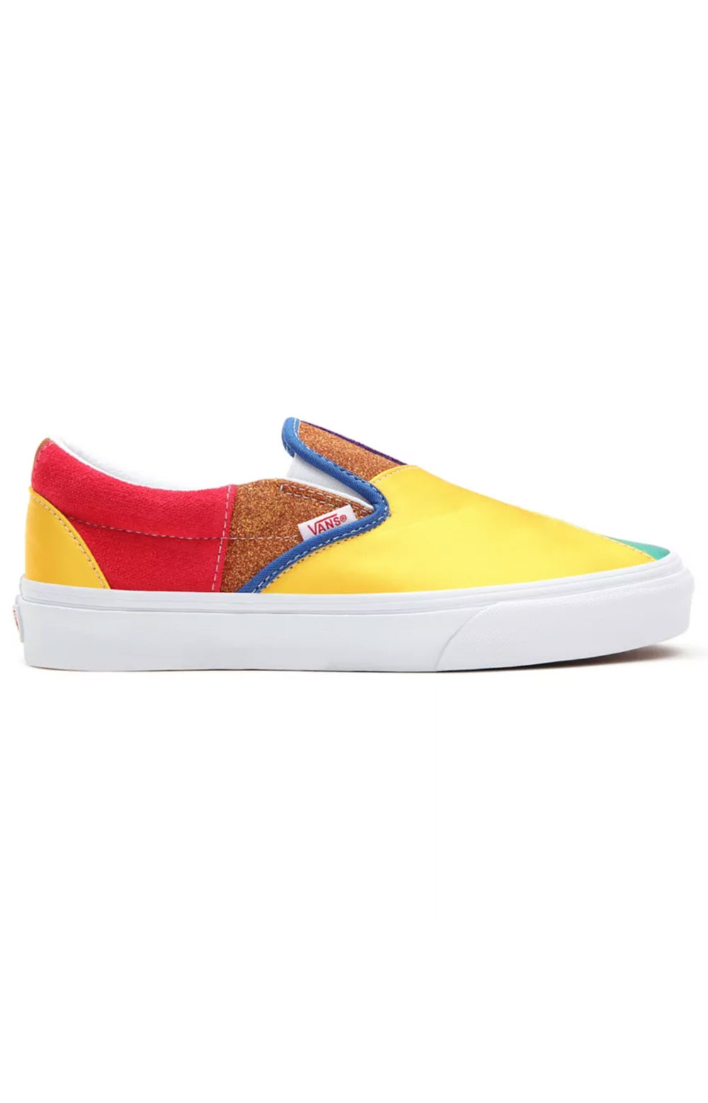 (3TB44B) Pride Classic Slip-On Shoes - Patchwork