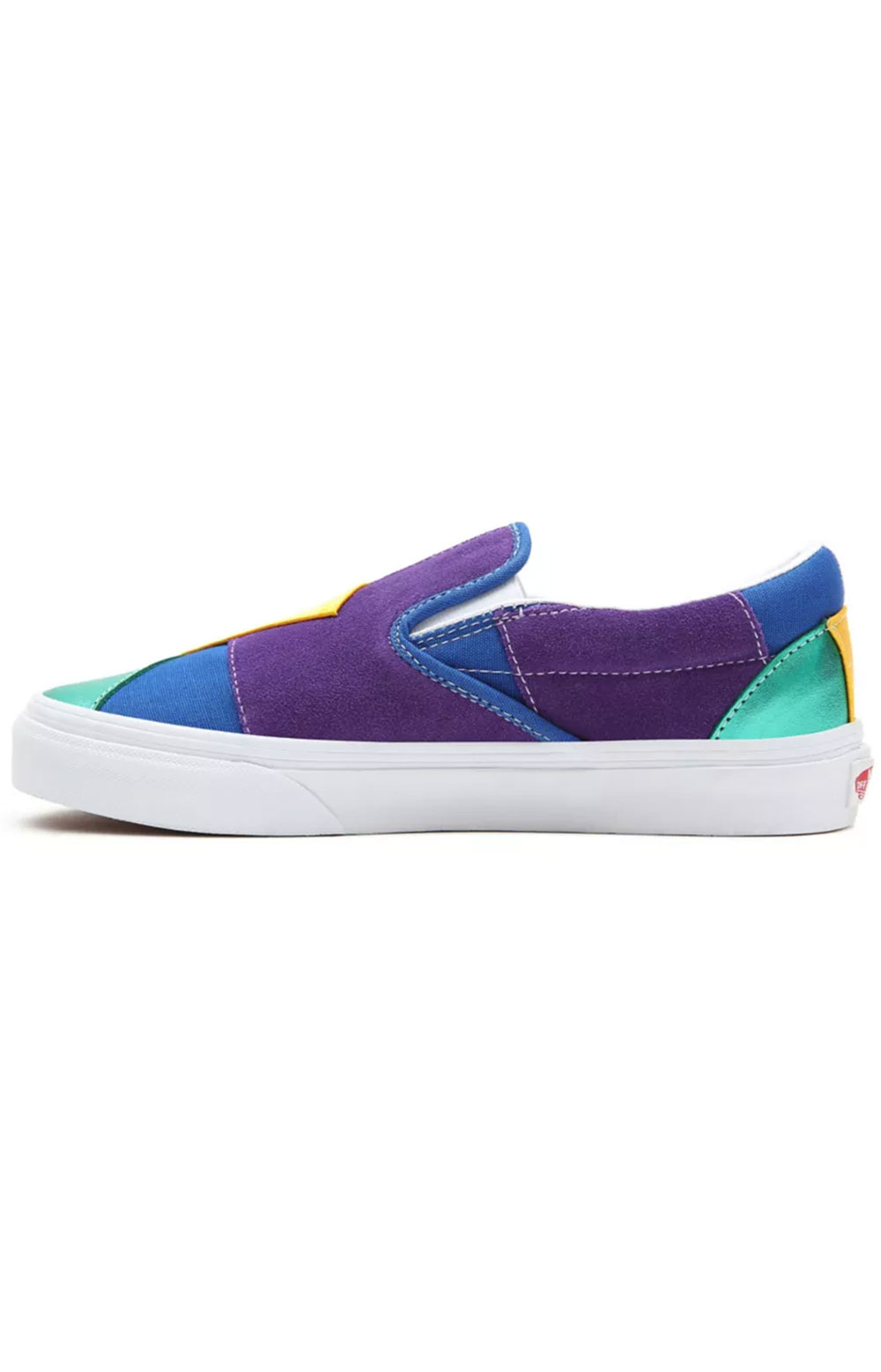 (3TB44B) Pride Classic Slip-On Shoes - Patchwork  3