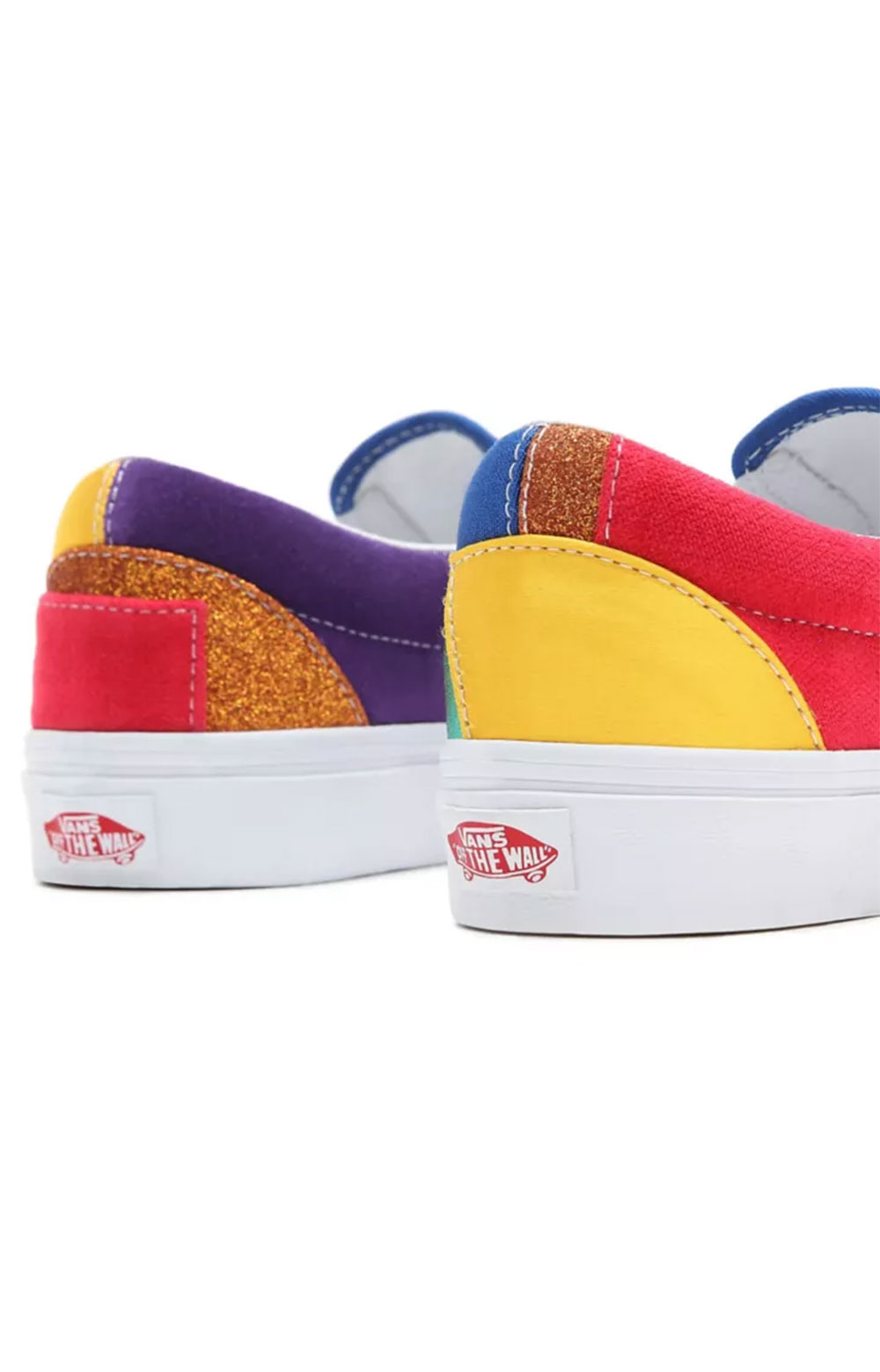 (3TB44B) Pride Classic Slip-On Shoes - Patchwork  5
