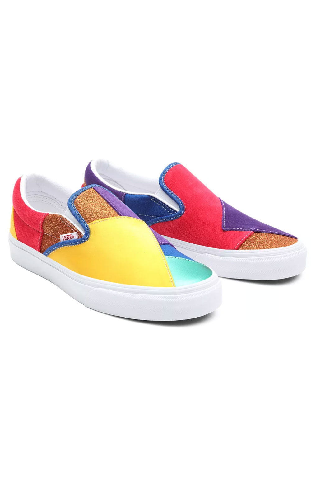(3TB44B) Pride Classic Slip-On Shoes - Patchwork  6