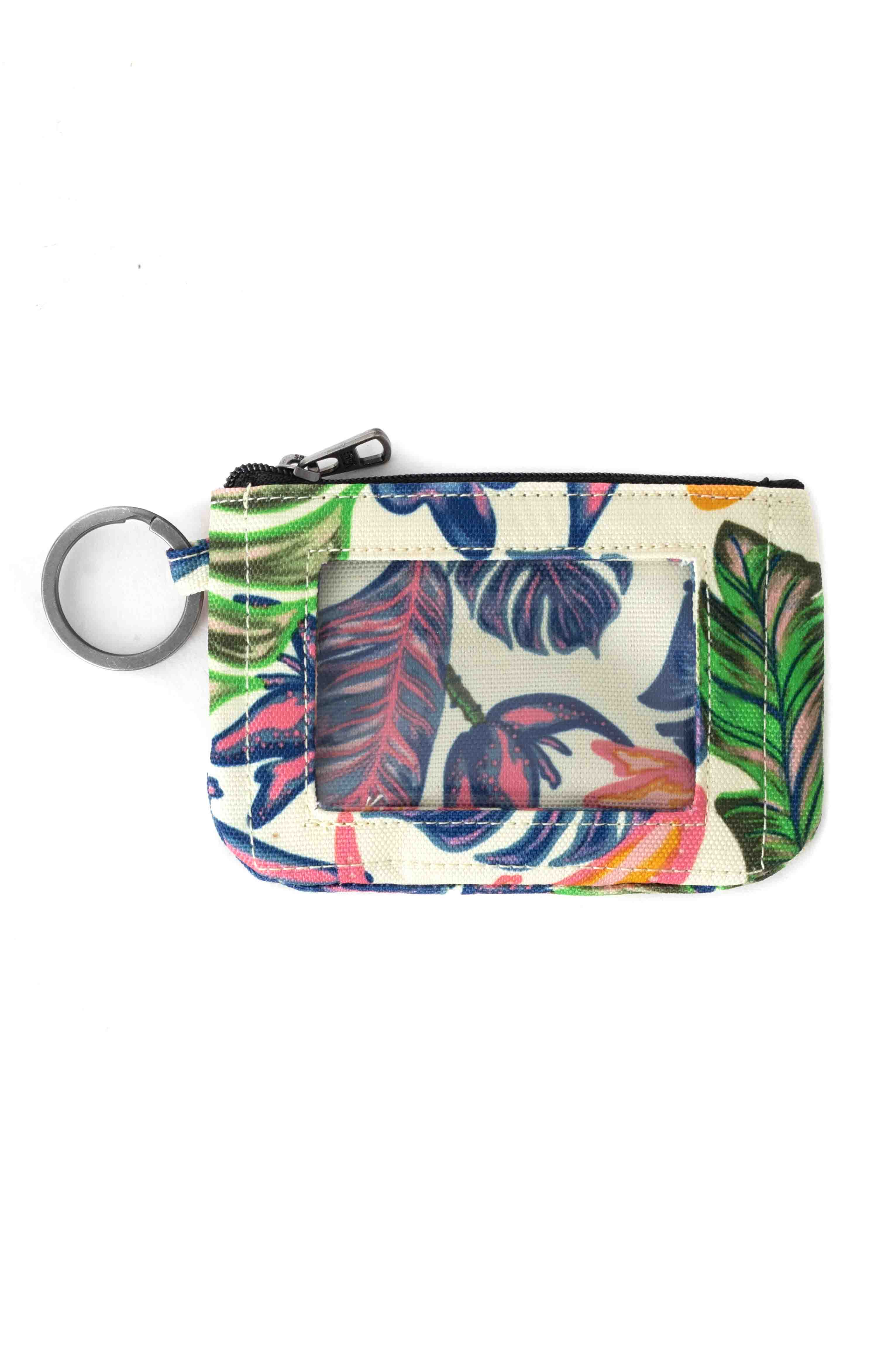 Wallet Keychain - Tropical Mellow Yellow 2