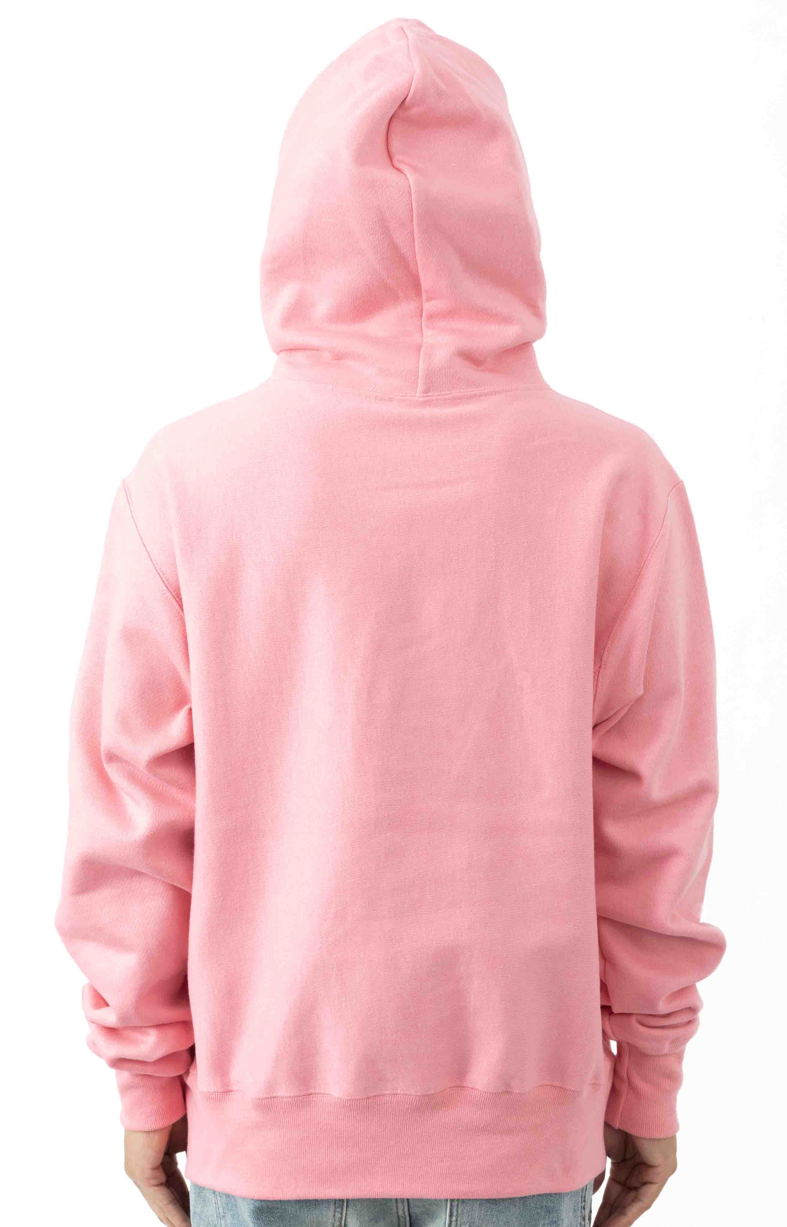 Reflective Logo Pullover Hoodie - Guava Pink 3