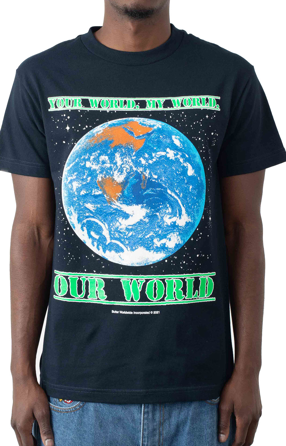 Our World T-Shirt - Navy