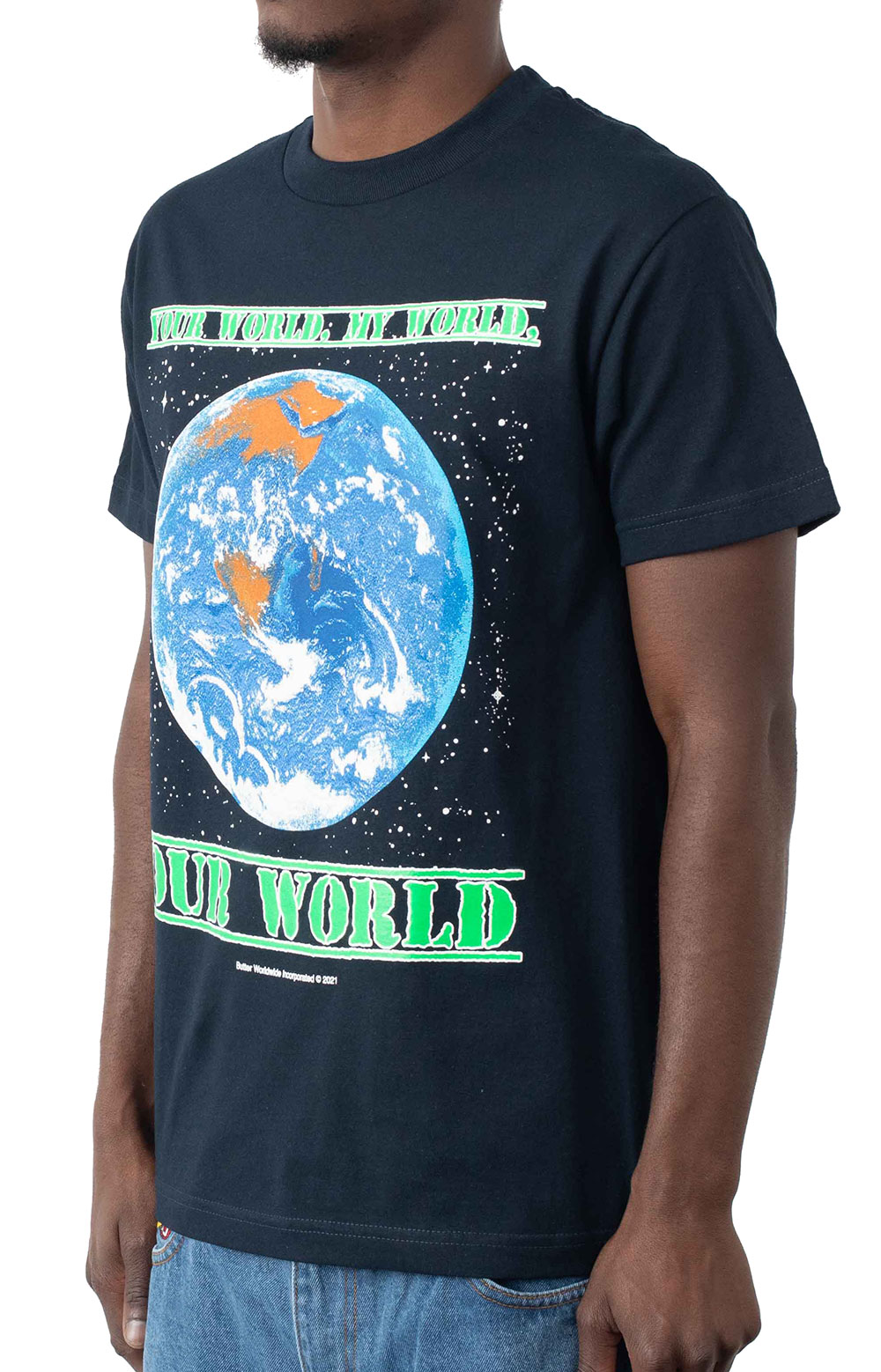 Our World T-Shirt - Navy 2