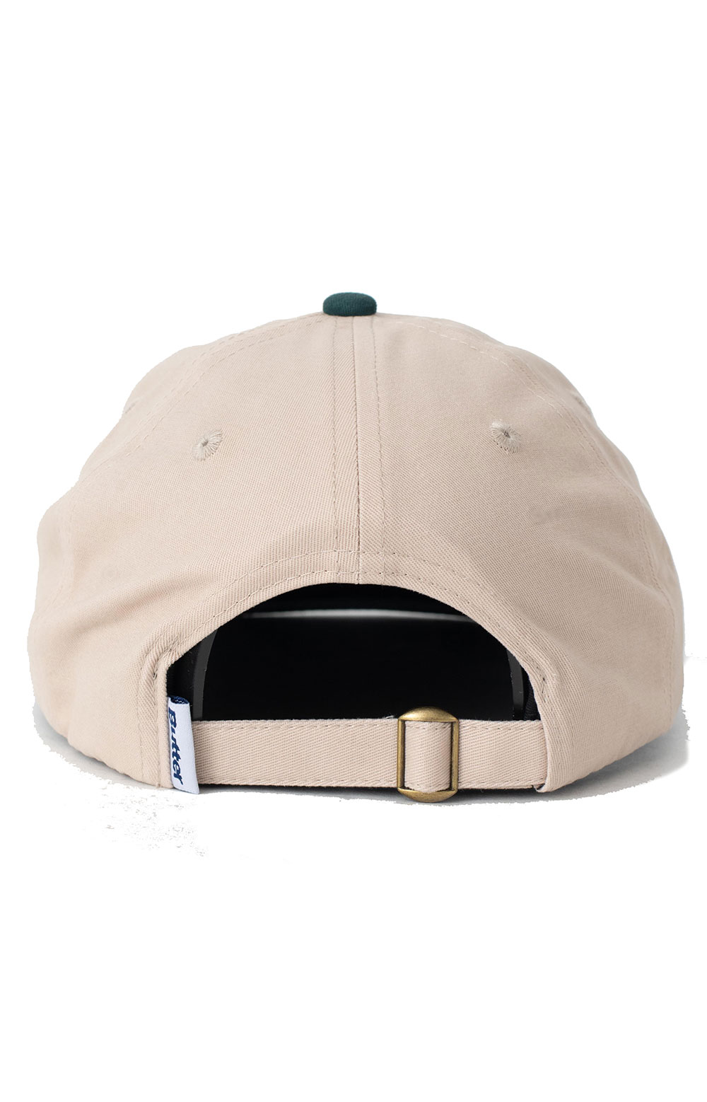 Sunflower 6 Panel Hat - Natural/Forest  3