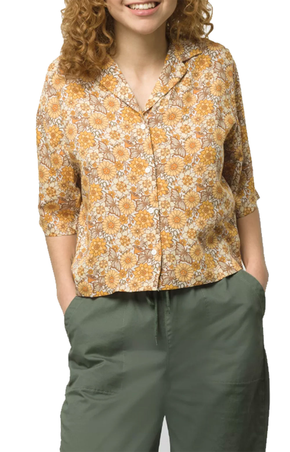 Trippy Floral Woven Shirt - Trippy Floral
