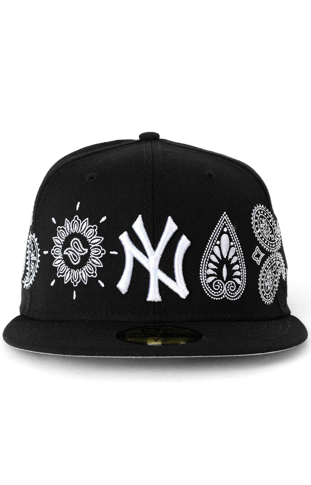 59Fifty New York Yankees Paisley Elements Fitted Hat - Black  2