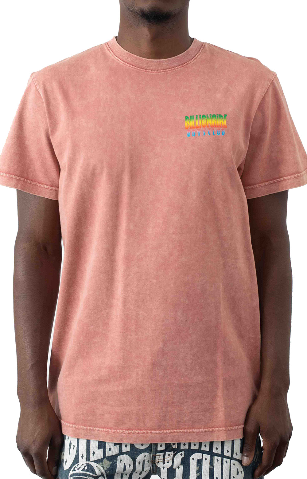 BB Space Wave SS Knit T-Shirt - Wild Rose  2