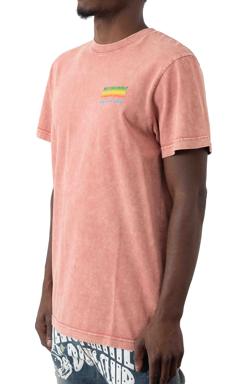 BB Space Wave SS Knit T-Shirt - Wild Rose  3