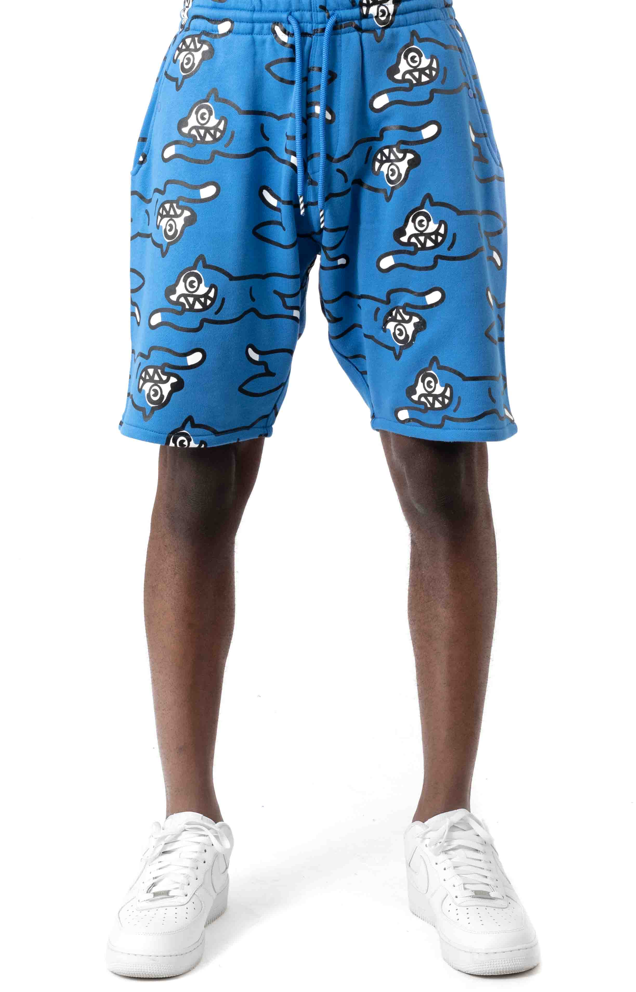 Bow Wow Short - Strong Blue  2