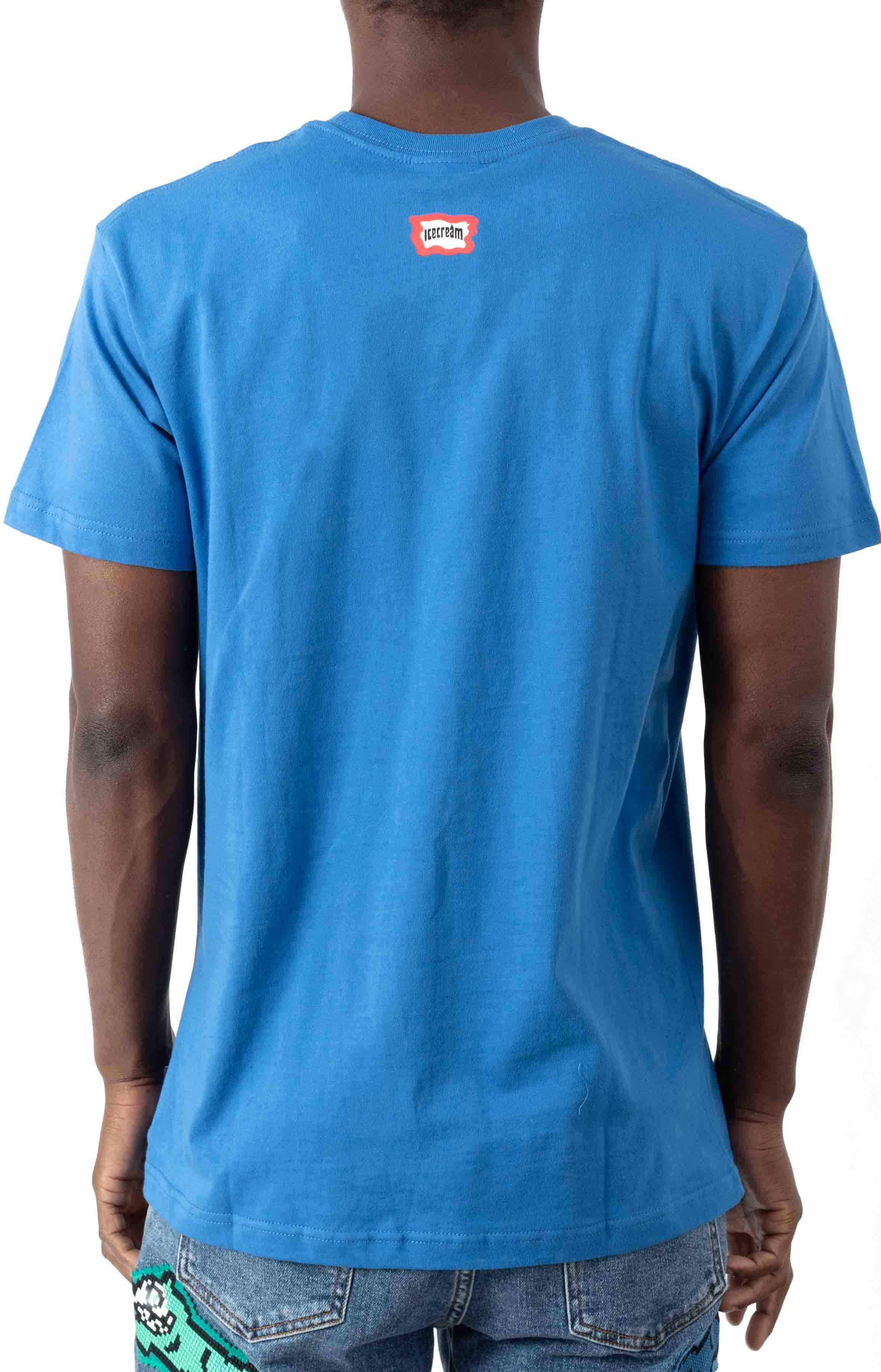Squared T-Shirt - Strong Blue  3