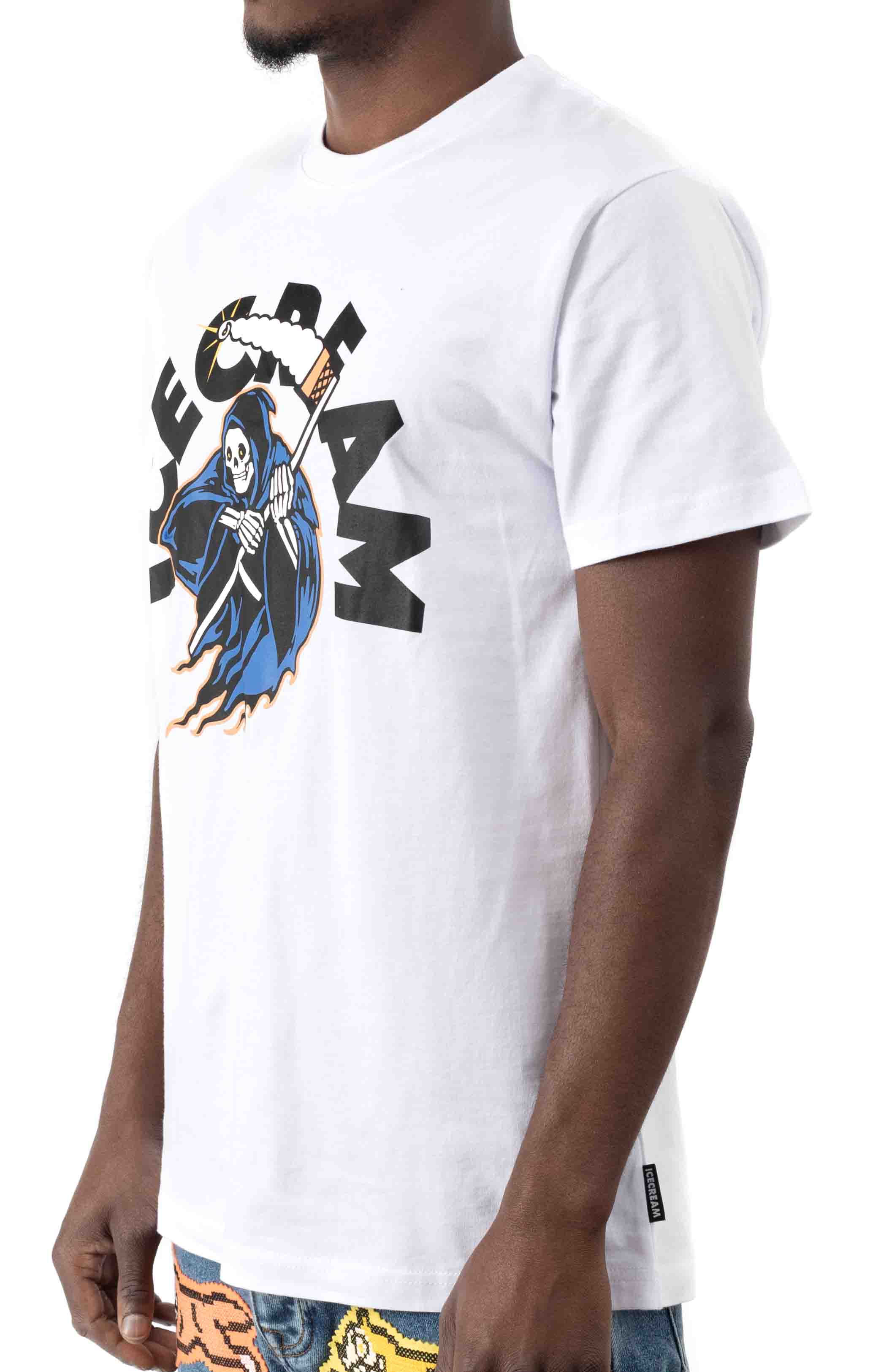 Don't Fear The Reaper T-Shirt - White  2