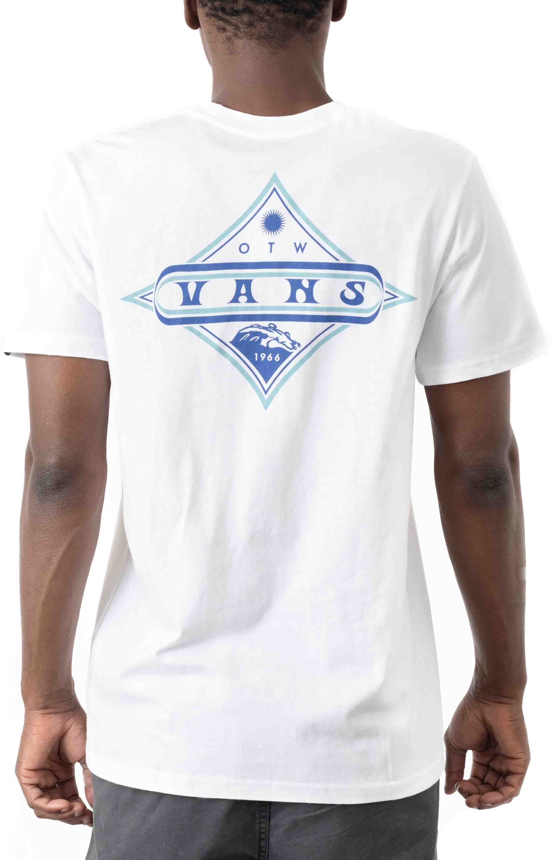 Vintage Pointed Shaper T-Shirt - White