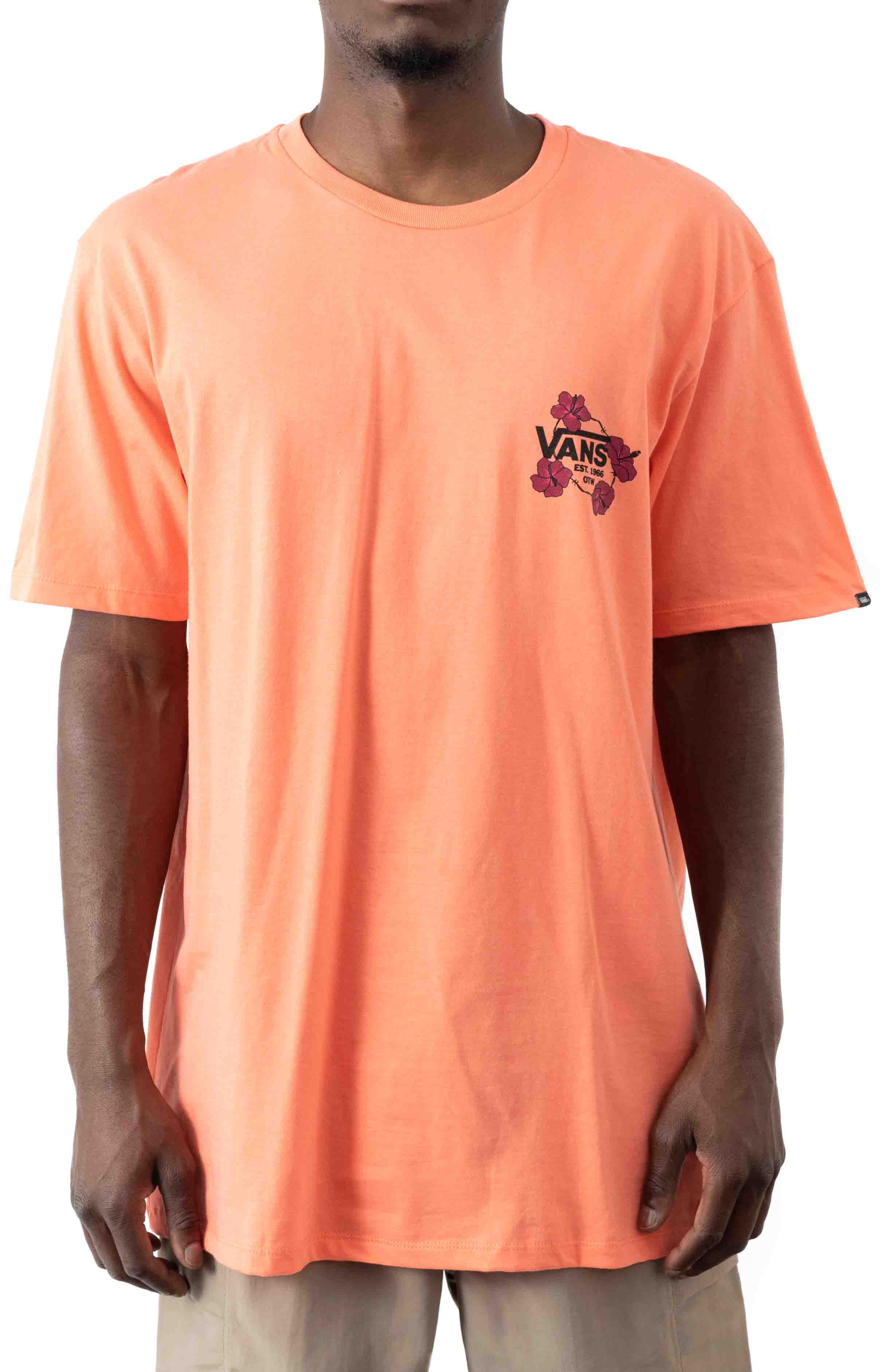 Lei'd To Rest T-Shirt - Fusion Coral