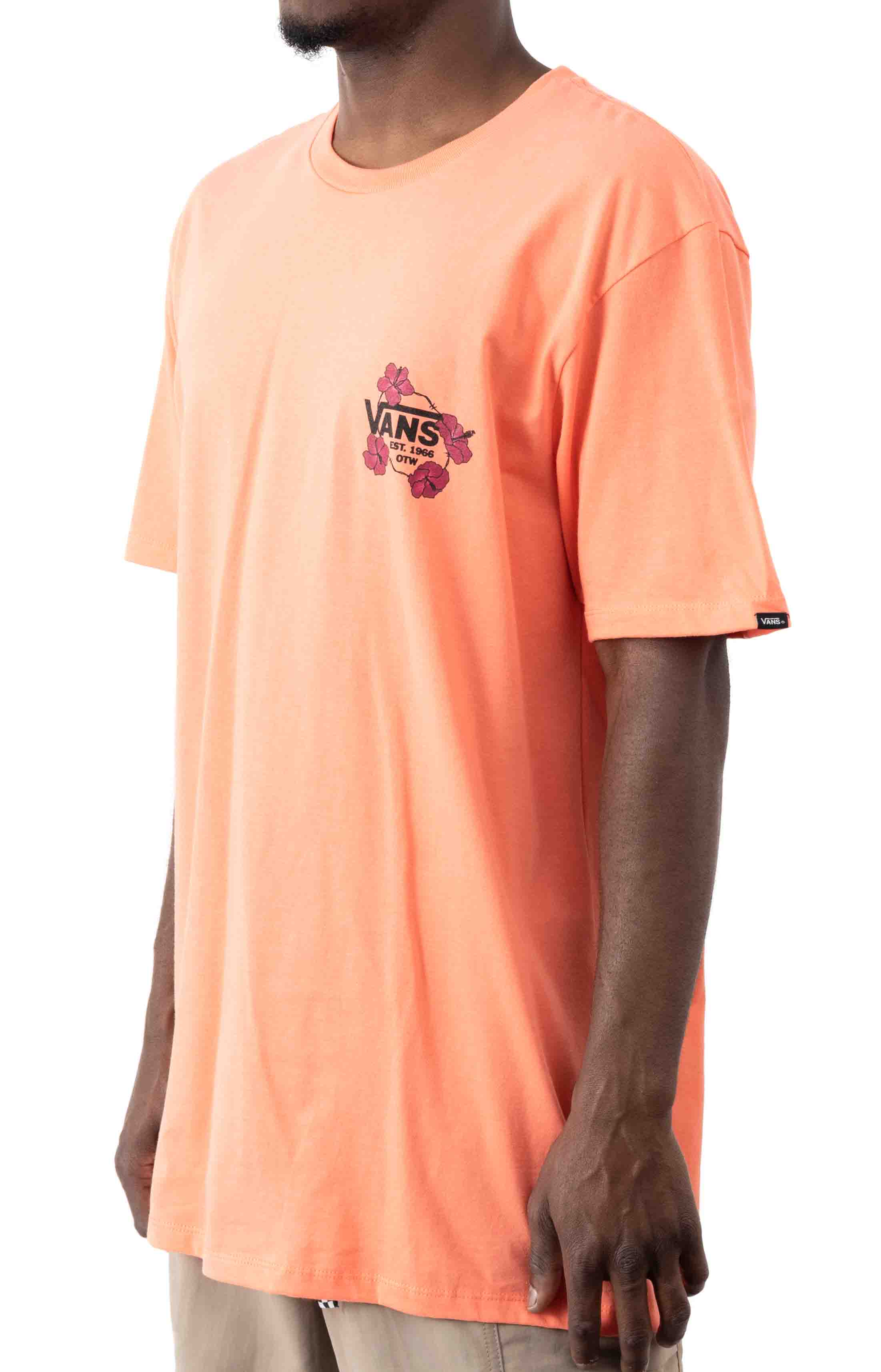 Lei'd To Rest T-Shirt - Fusion Coral  2