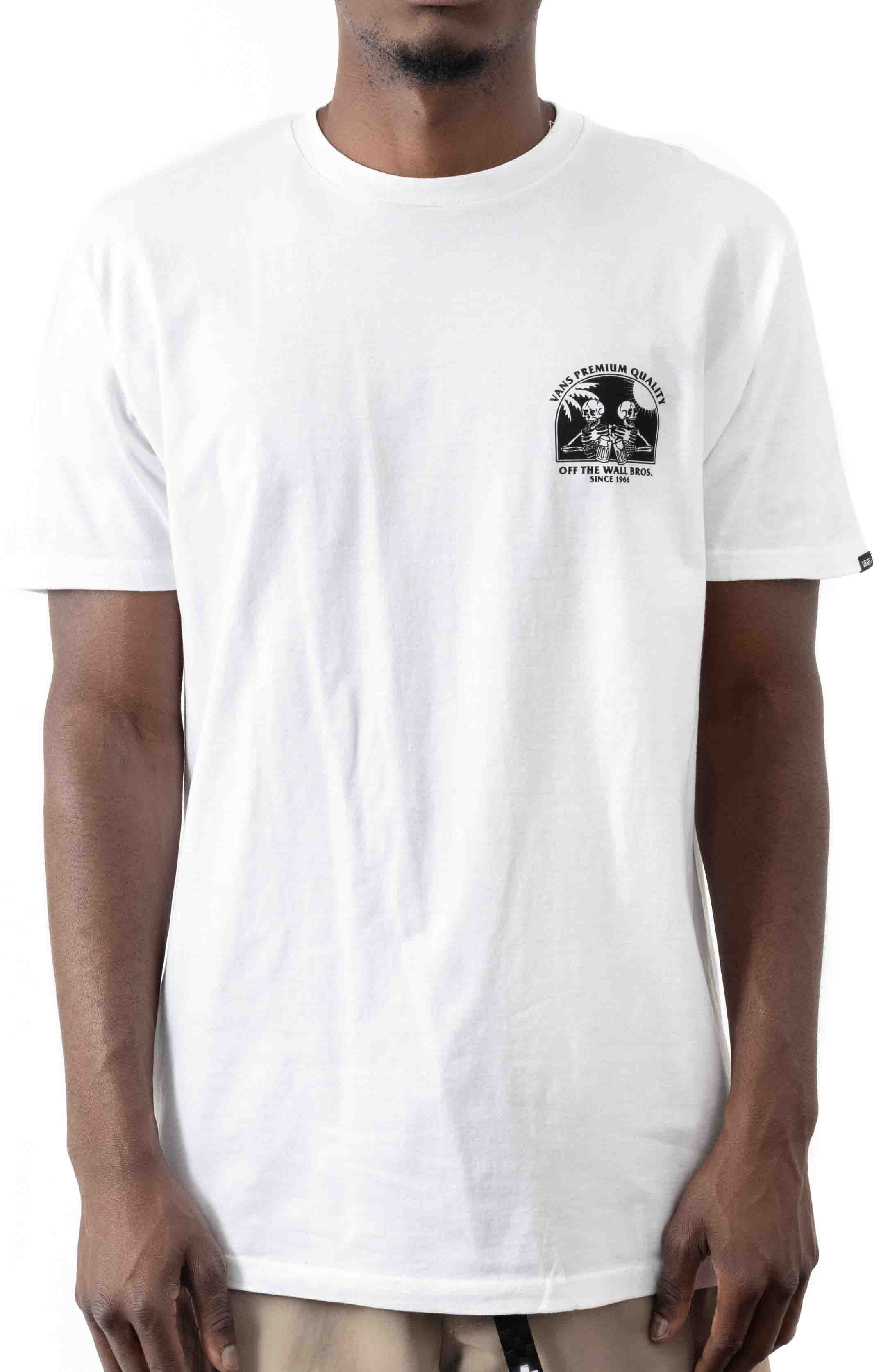 Off The Wall Bros T-Shirt - White