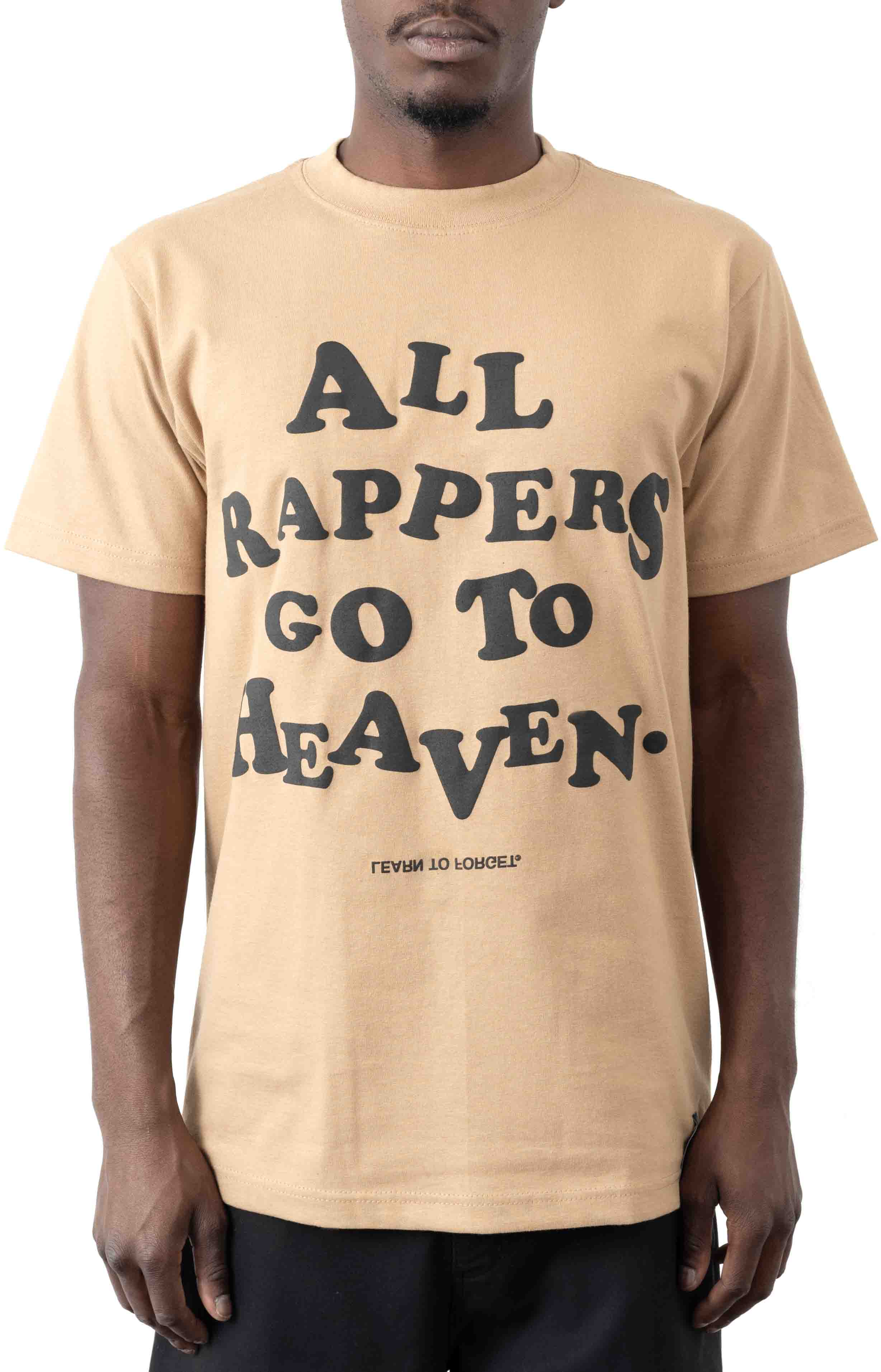 All Rappers Go To Heaven C/S T-Shirt - White